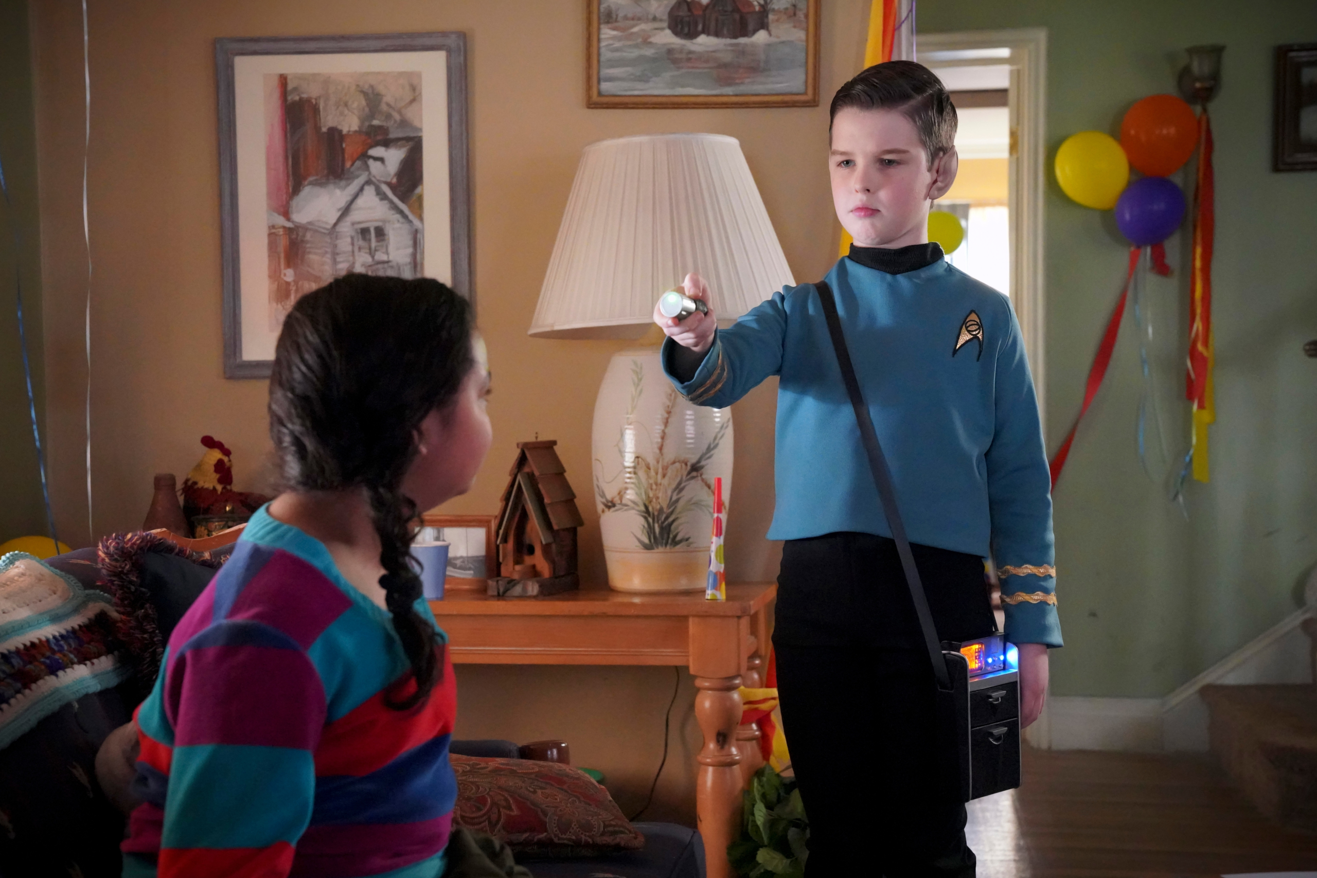 Iain Armitage Sheldon Cooper 2560x1707