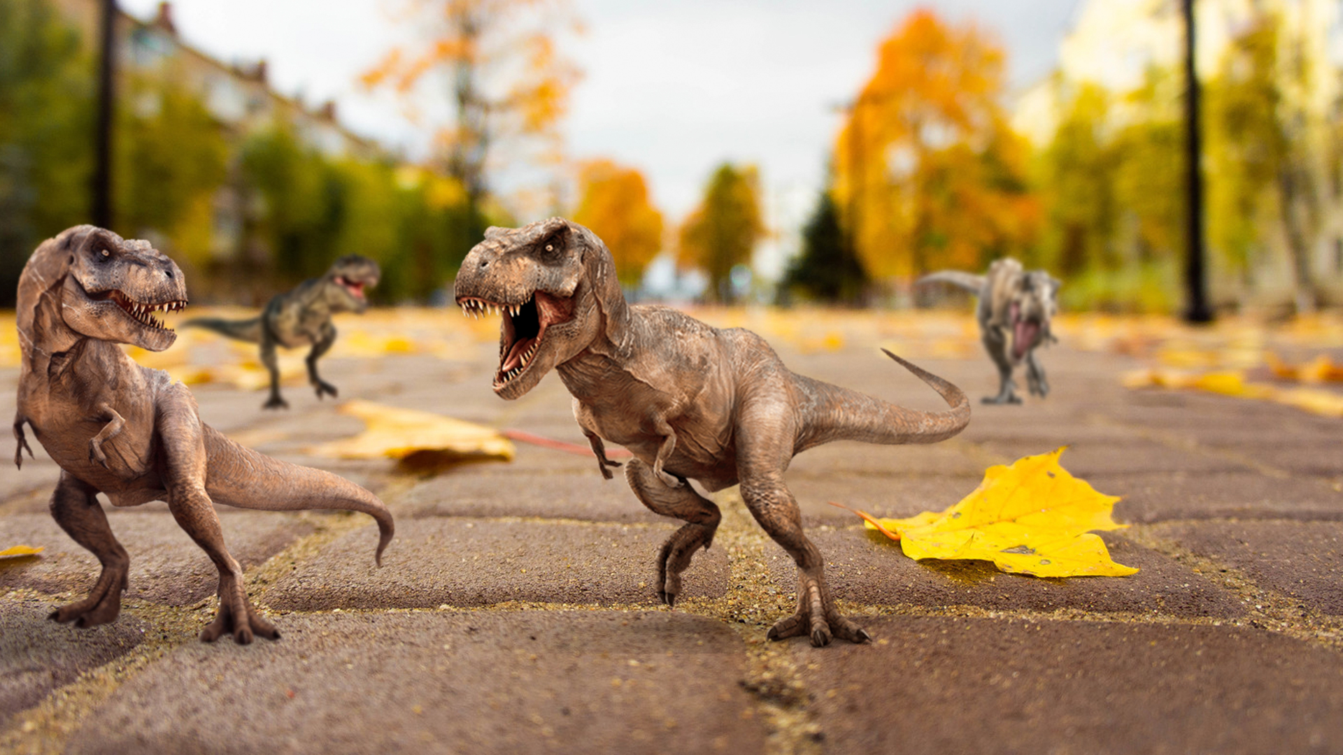 Dinosaurs Animals 1920x1080