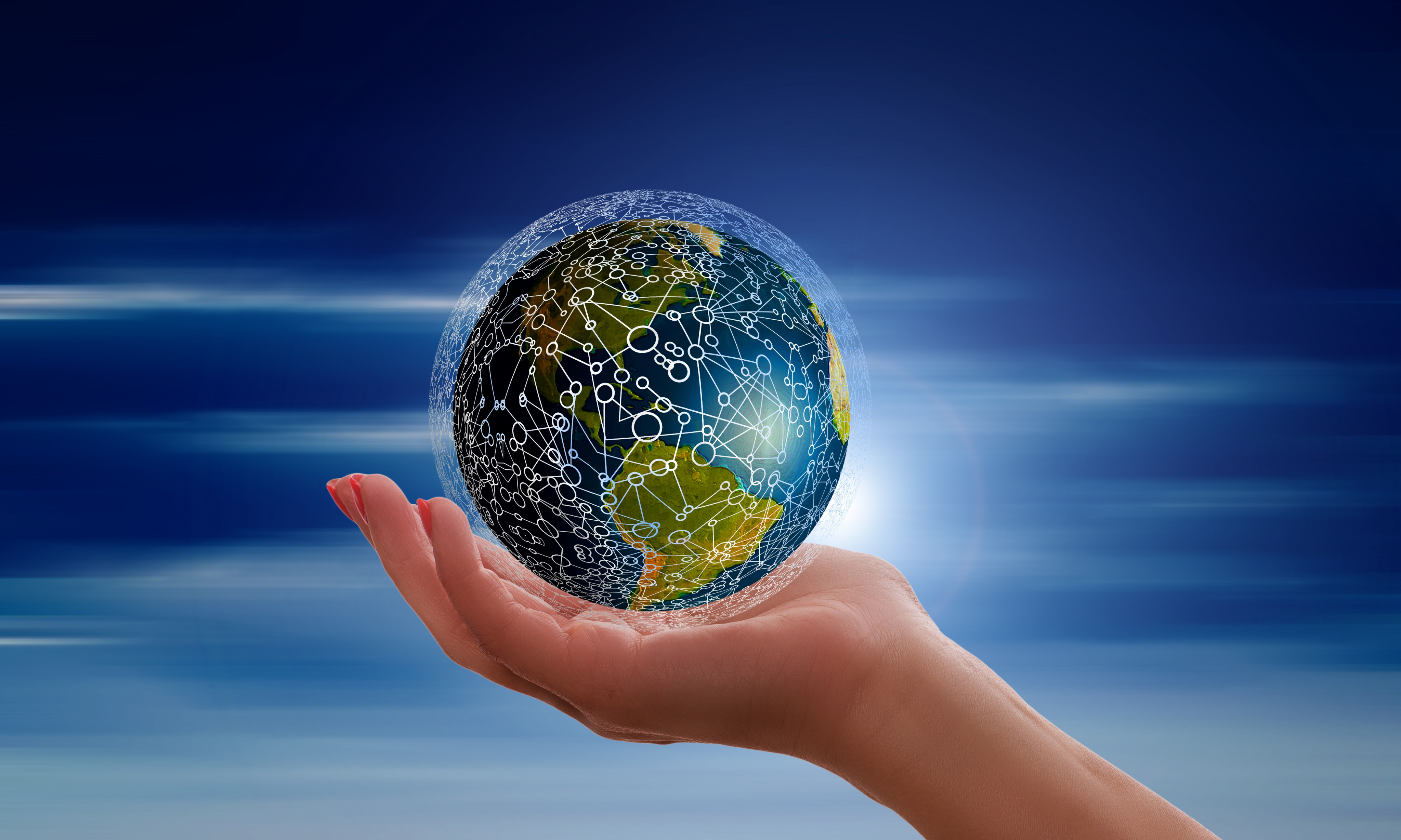Planet Hand 4096x2457