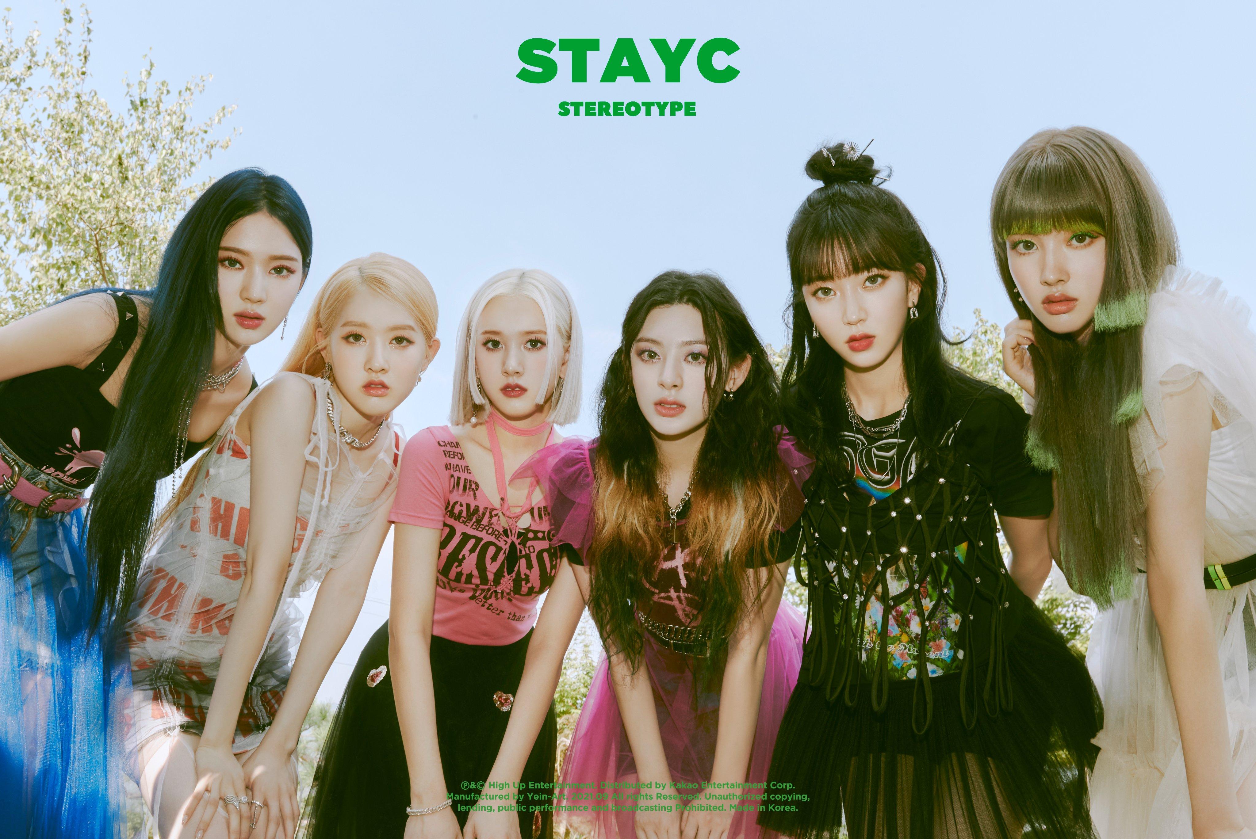STAYC K Pop Asian Korean Women 4096x2737