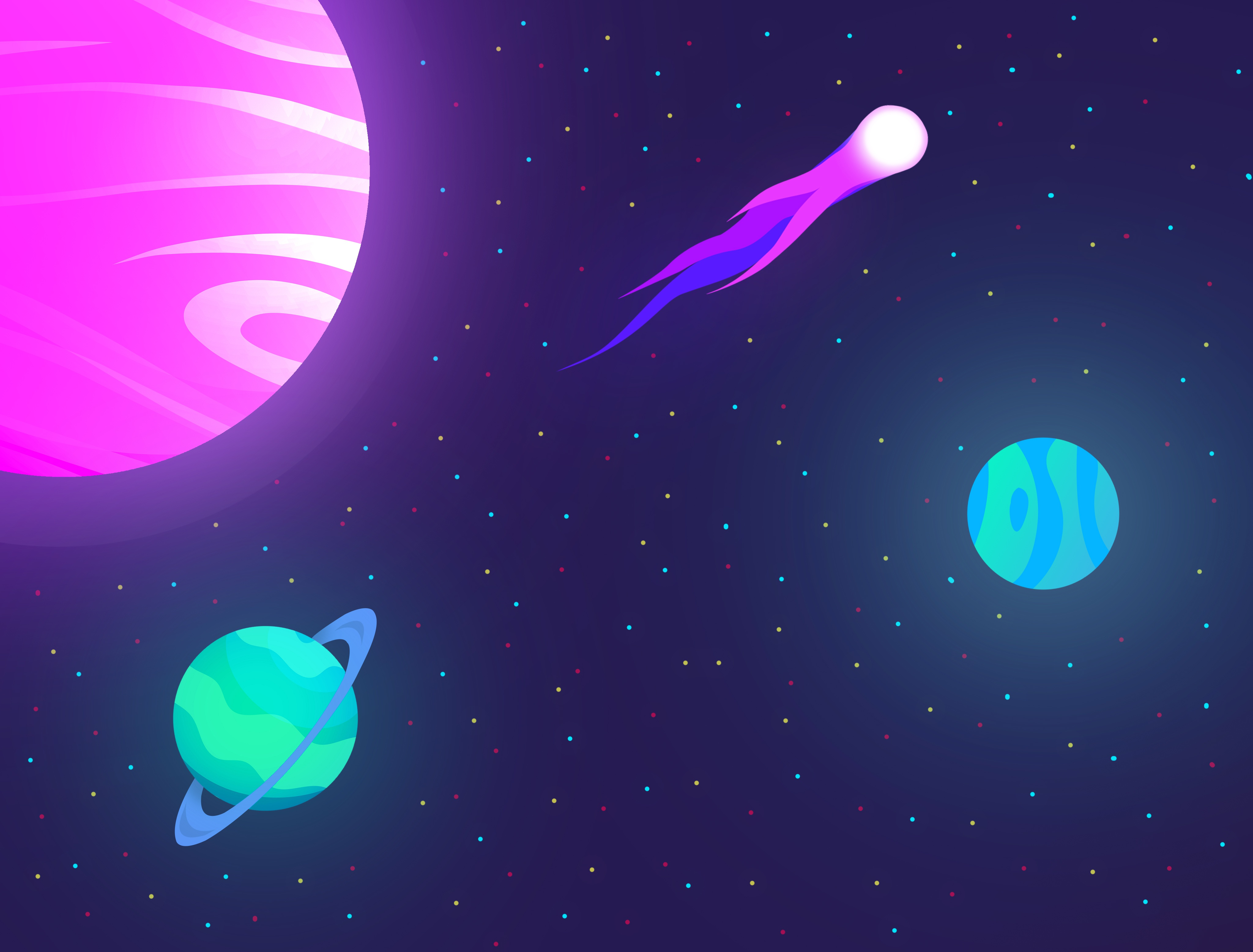 Planet Space 4096x3112