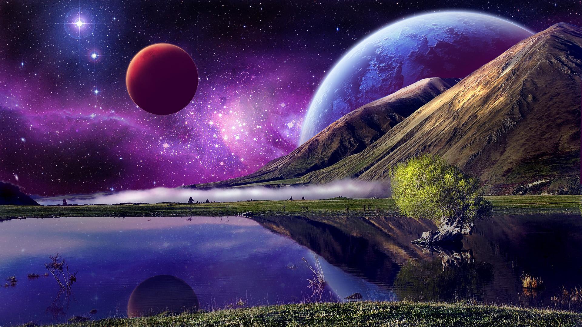 Stars Planet 1920x1080