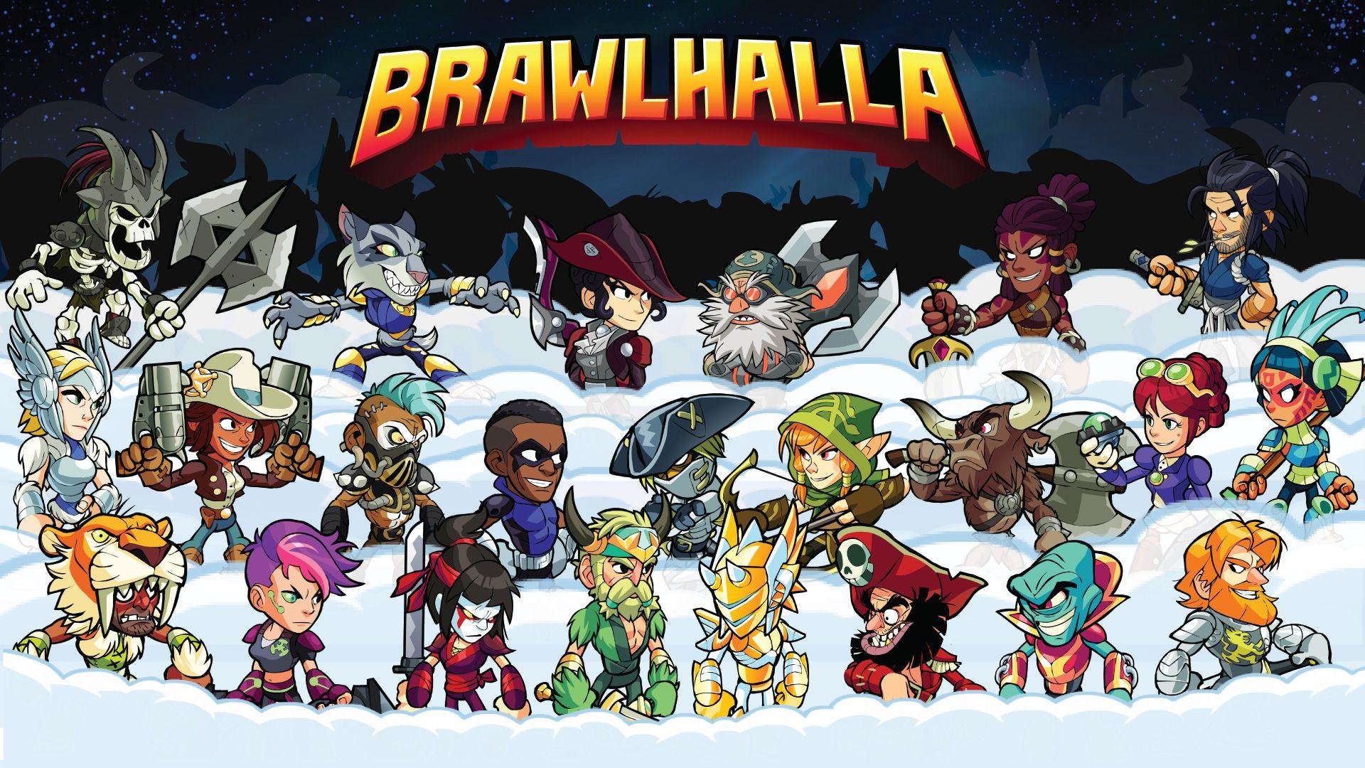 Video Game Brawlhalla 1920x1080