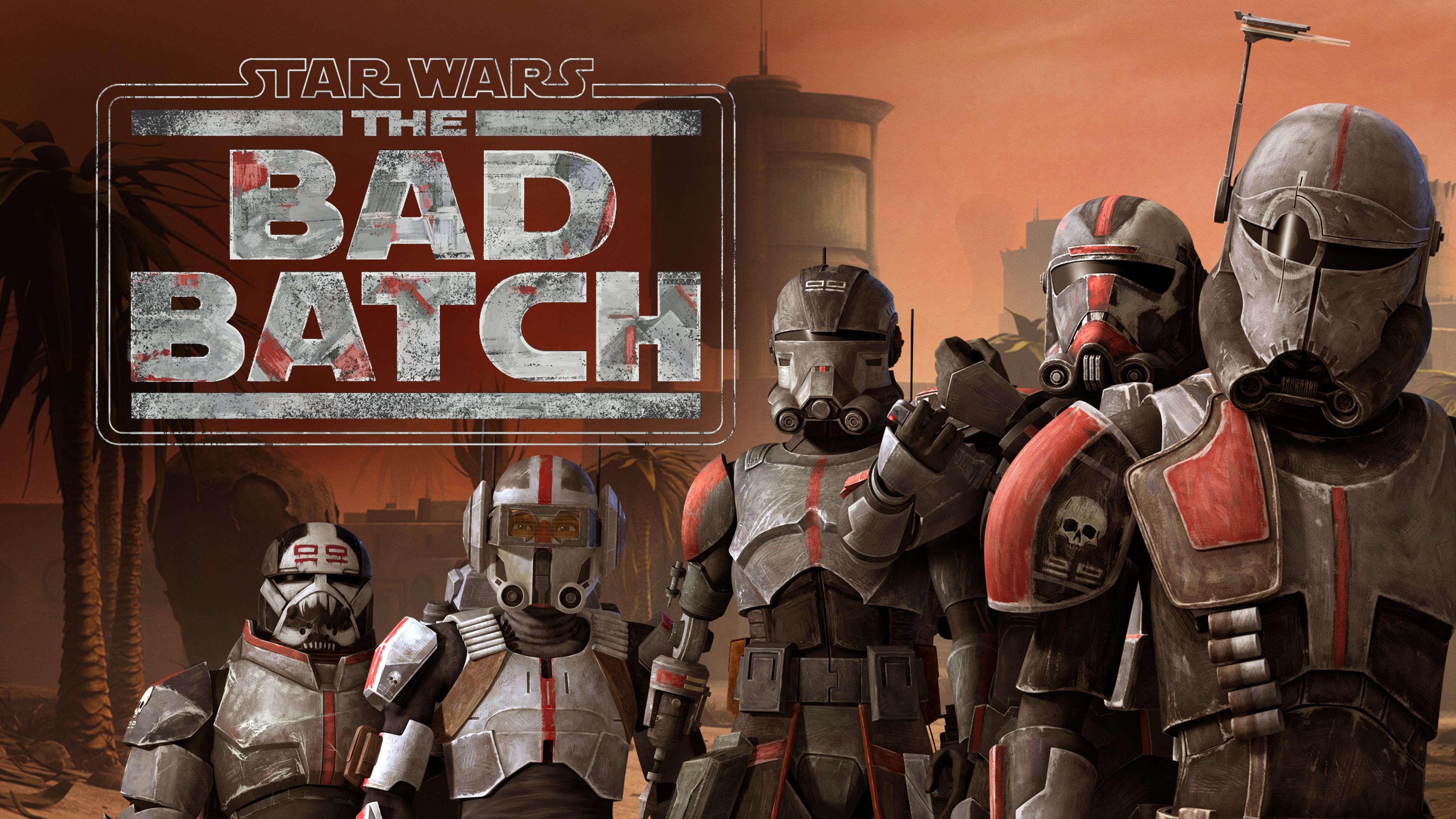 Star Wars Bad Batch Star Wars Bad Batch Clone Trooper TV Series 3840x2160