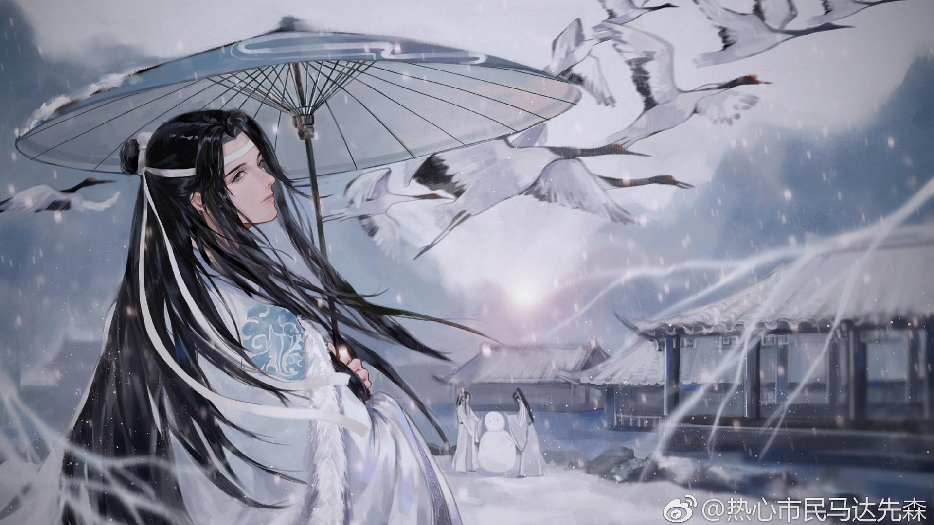 Lan Wangji Lan Zhan 1920x1080