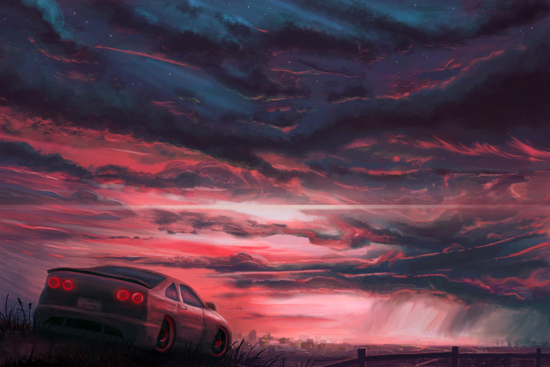 Car Sky 1920x1280