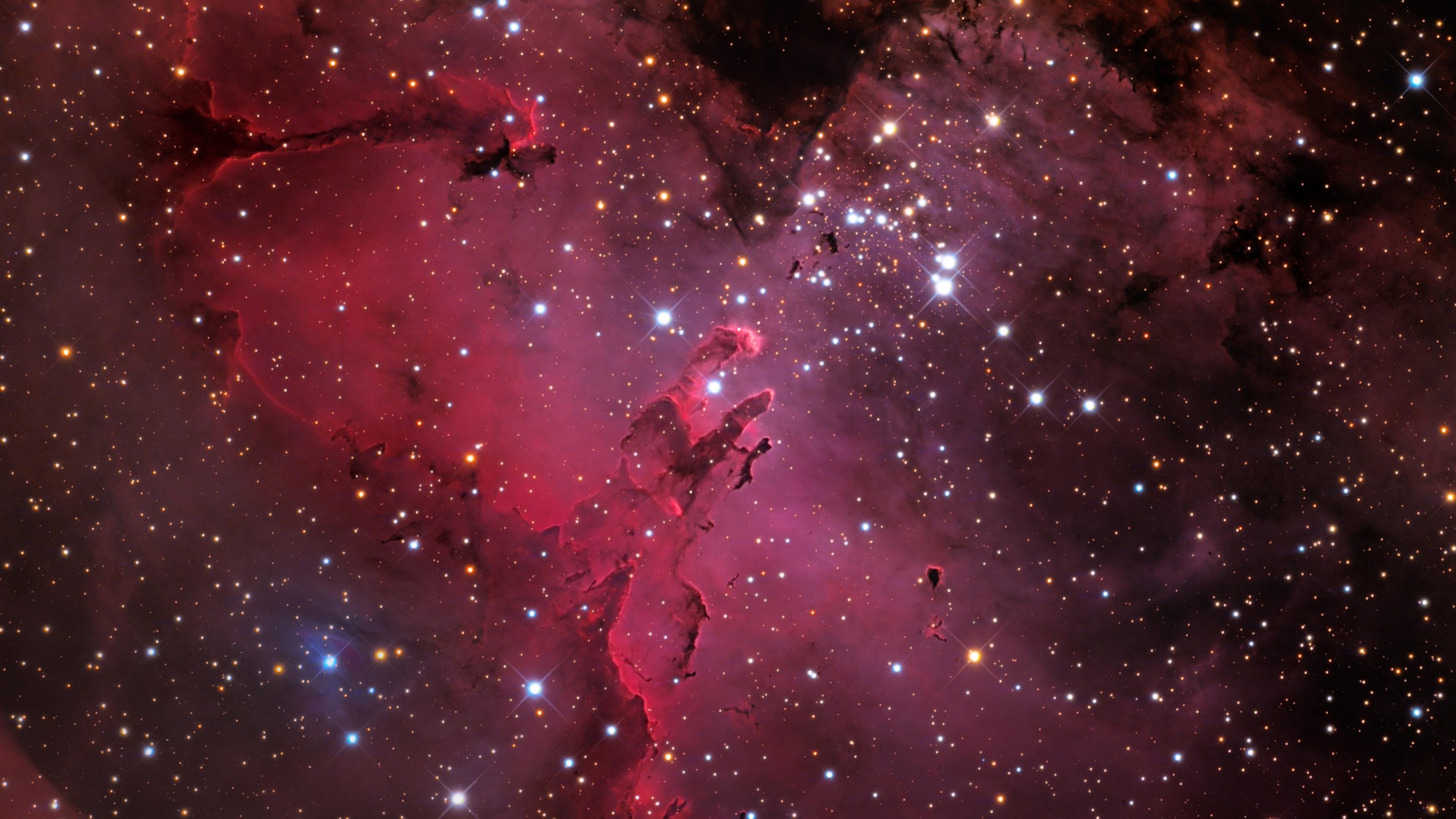 Eagle Nebula Nebula Stars 3840x2160