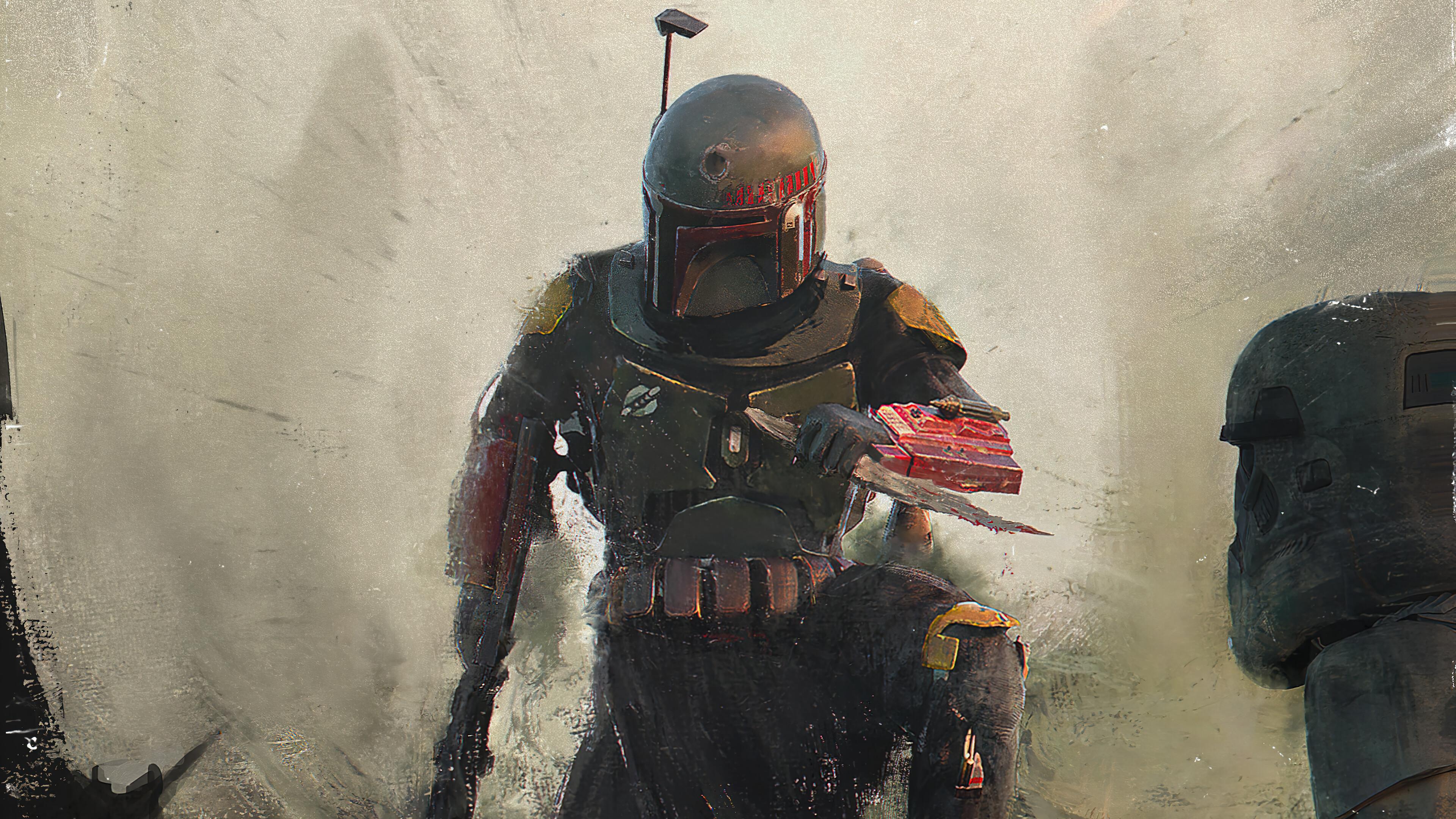 Boba Fett Star Wars 3840x2160