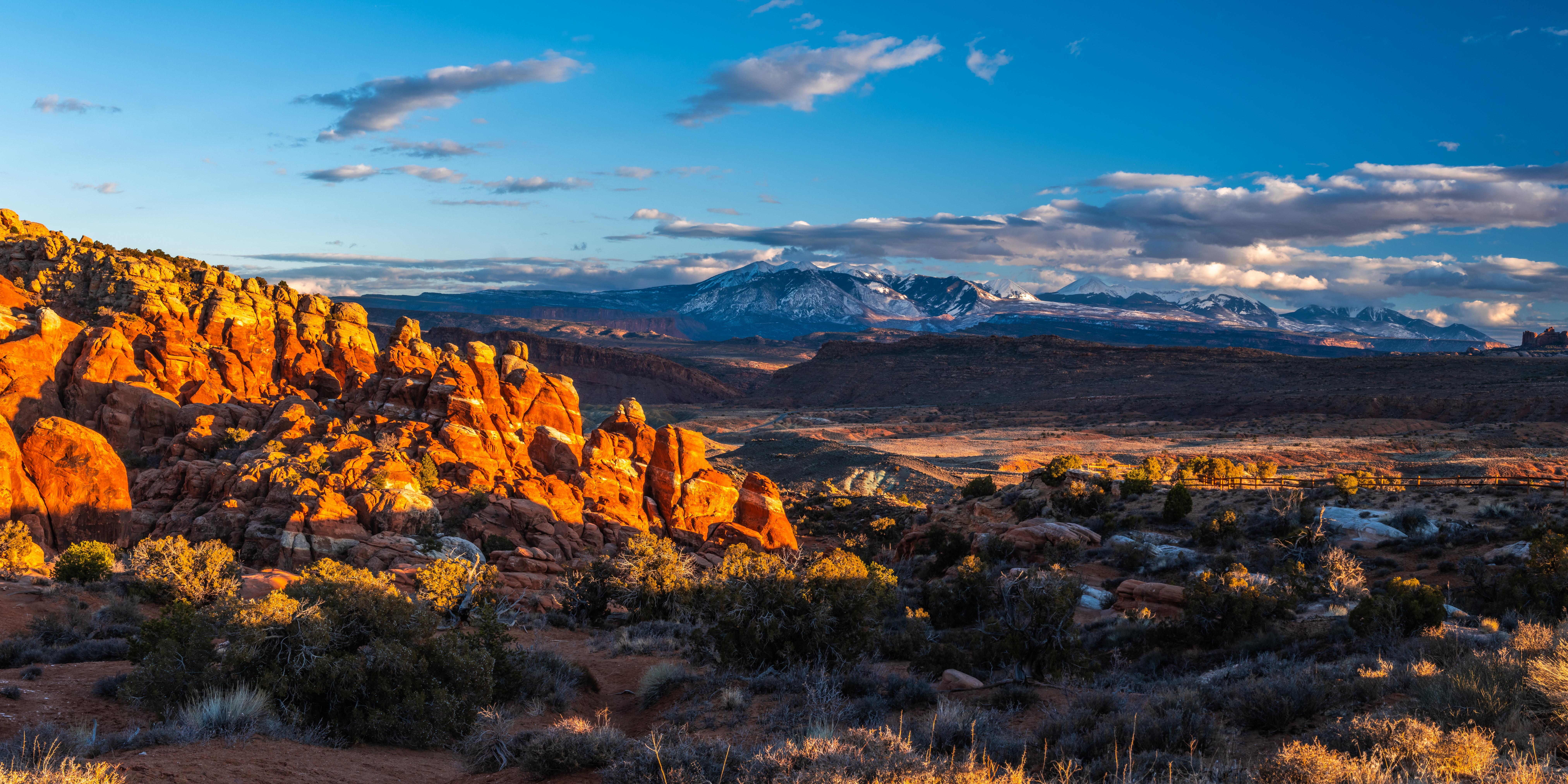 Mountain Usa Utah 8100x4050