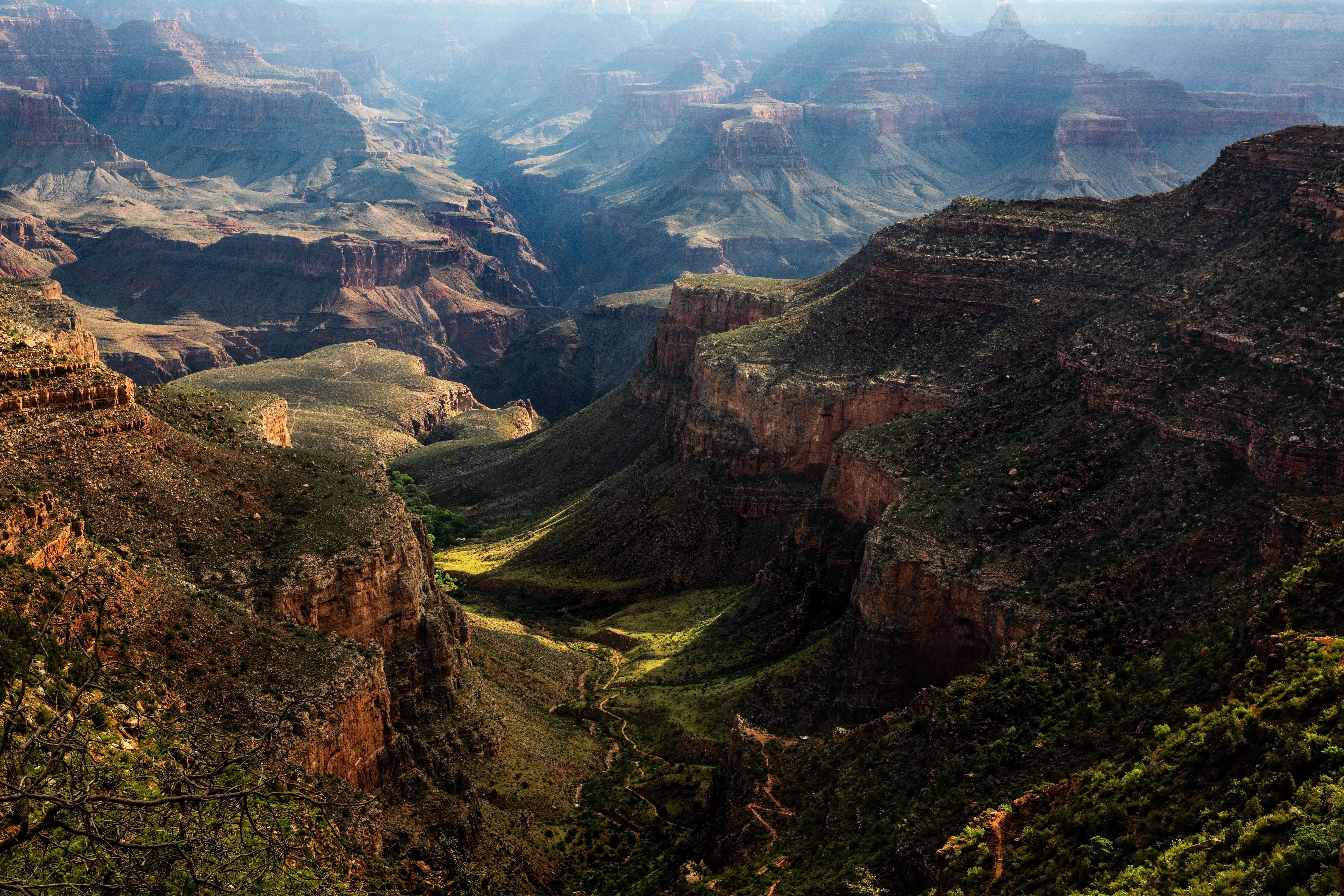 Canyon Mountain Nature Usa 7200x4800
