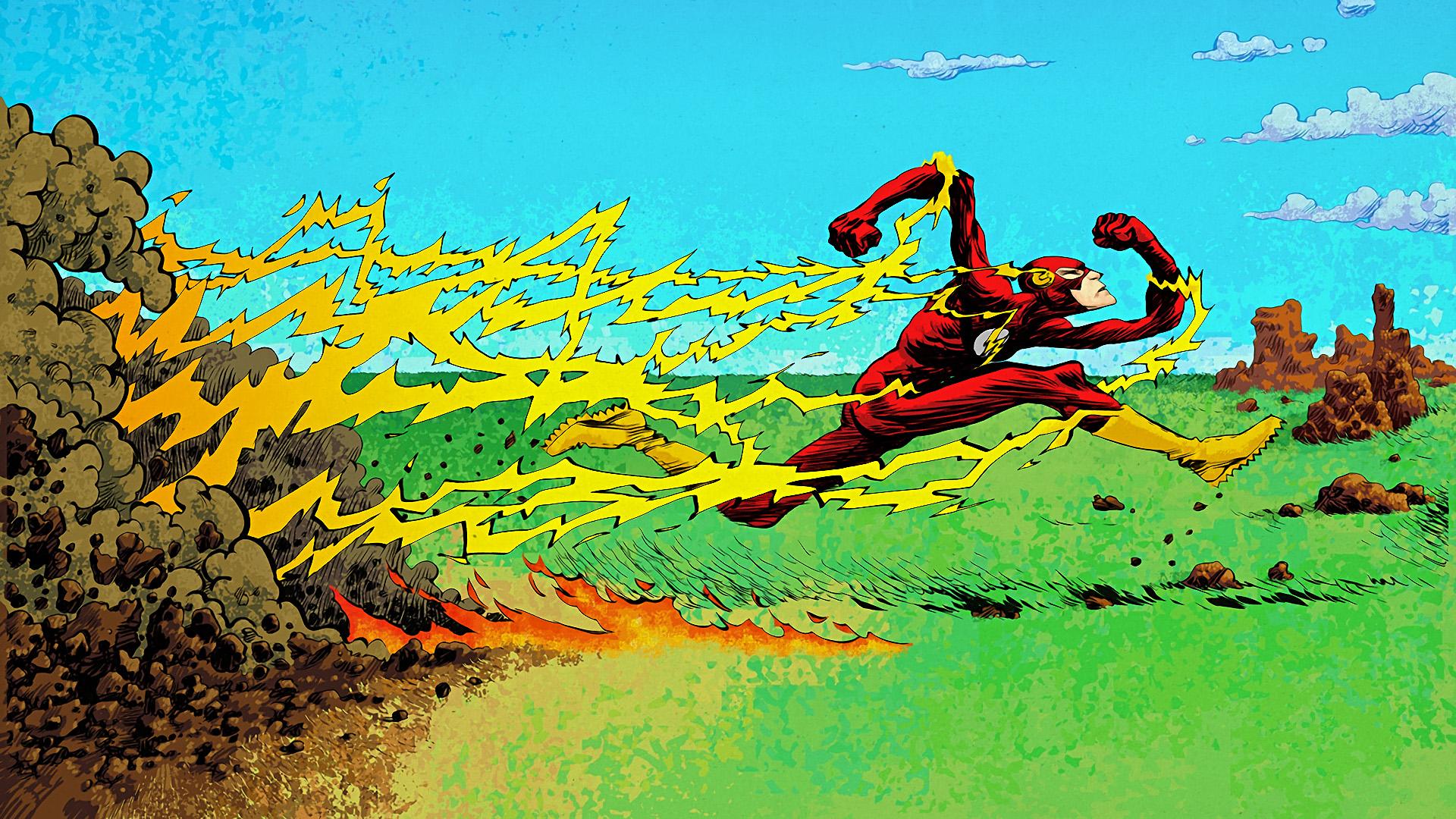 Comics Flash 1920x1080
