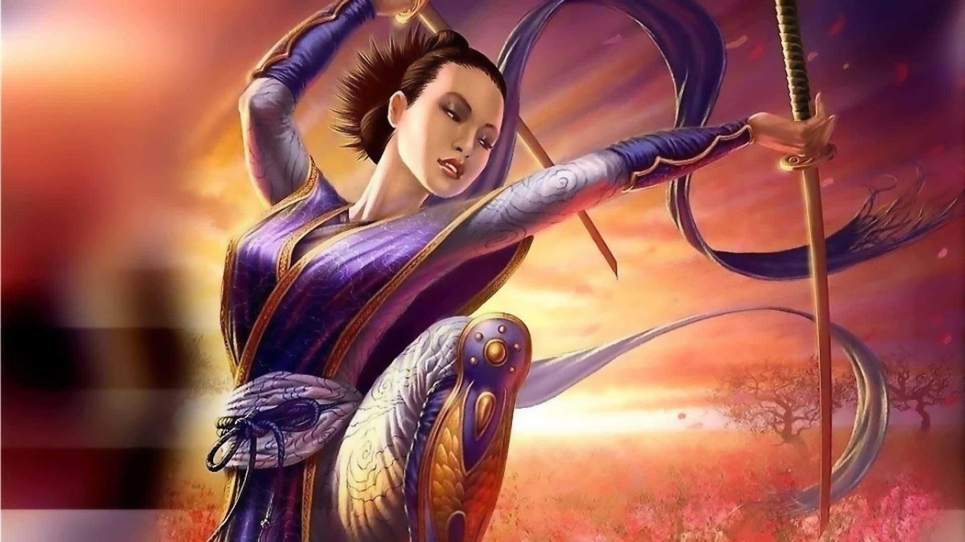 Fantasy Women Warrior 1920x1079