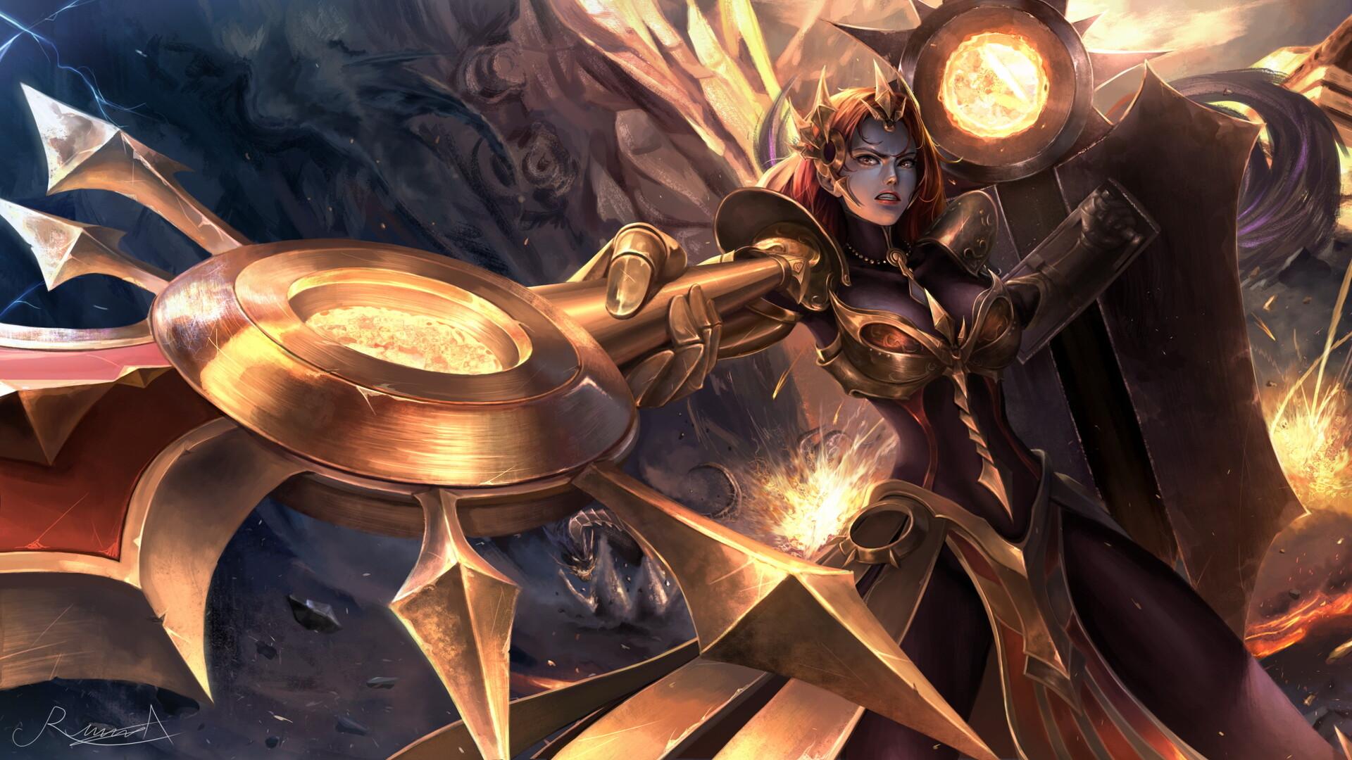 Leona League Of Legends 1920x1080