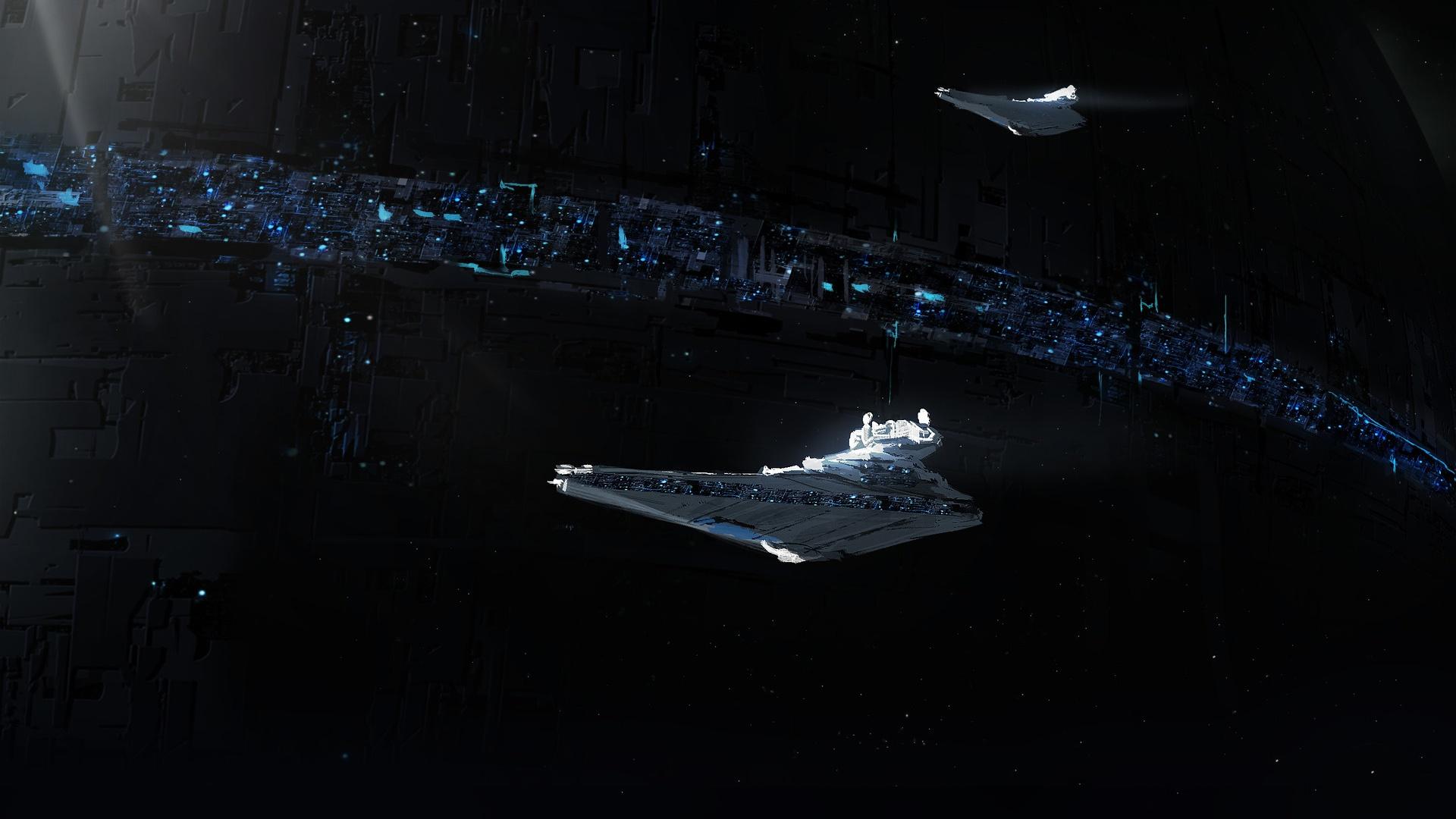 Spaceship Star Destroyer 1920x1080