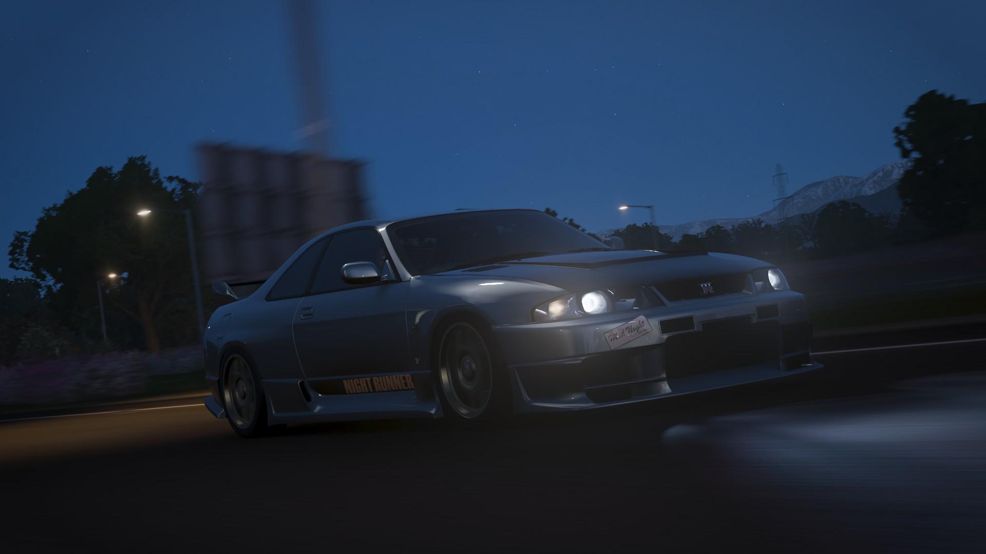 Japanese Cars Forza Horizon 4 Night Night Runner 1920x1080