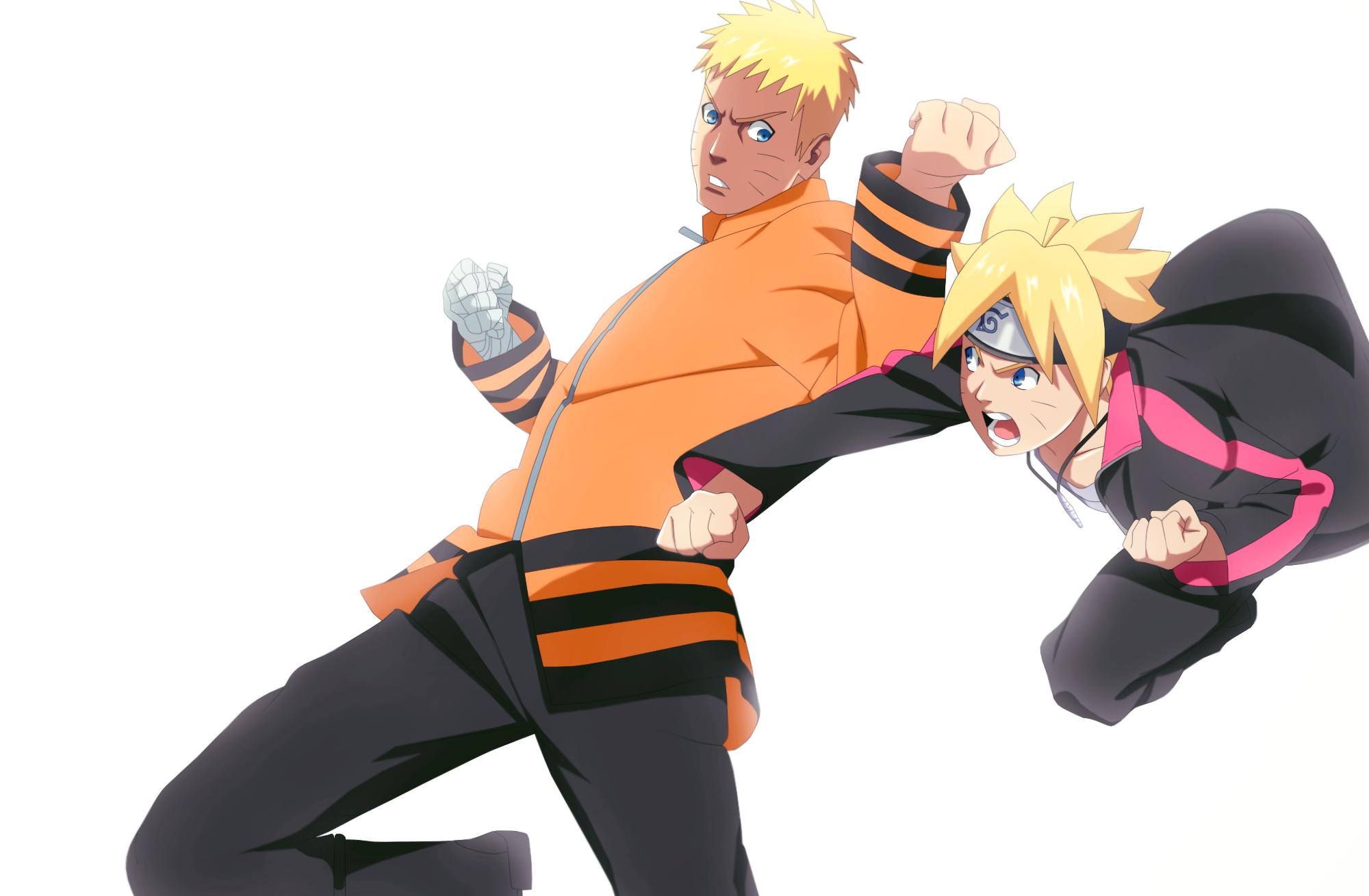 Boruto Uzumaki Naruto Uzumaki 2000x1310