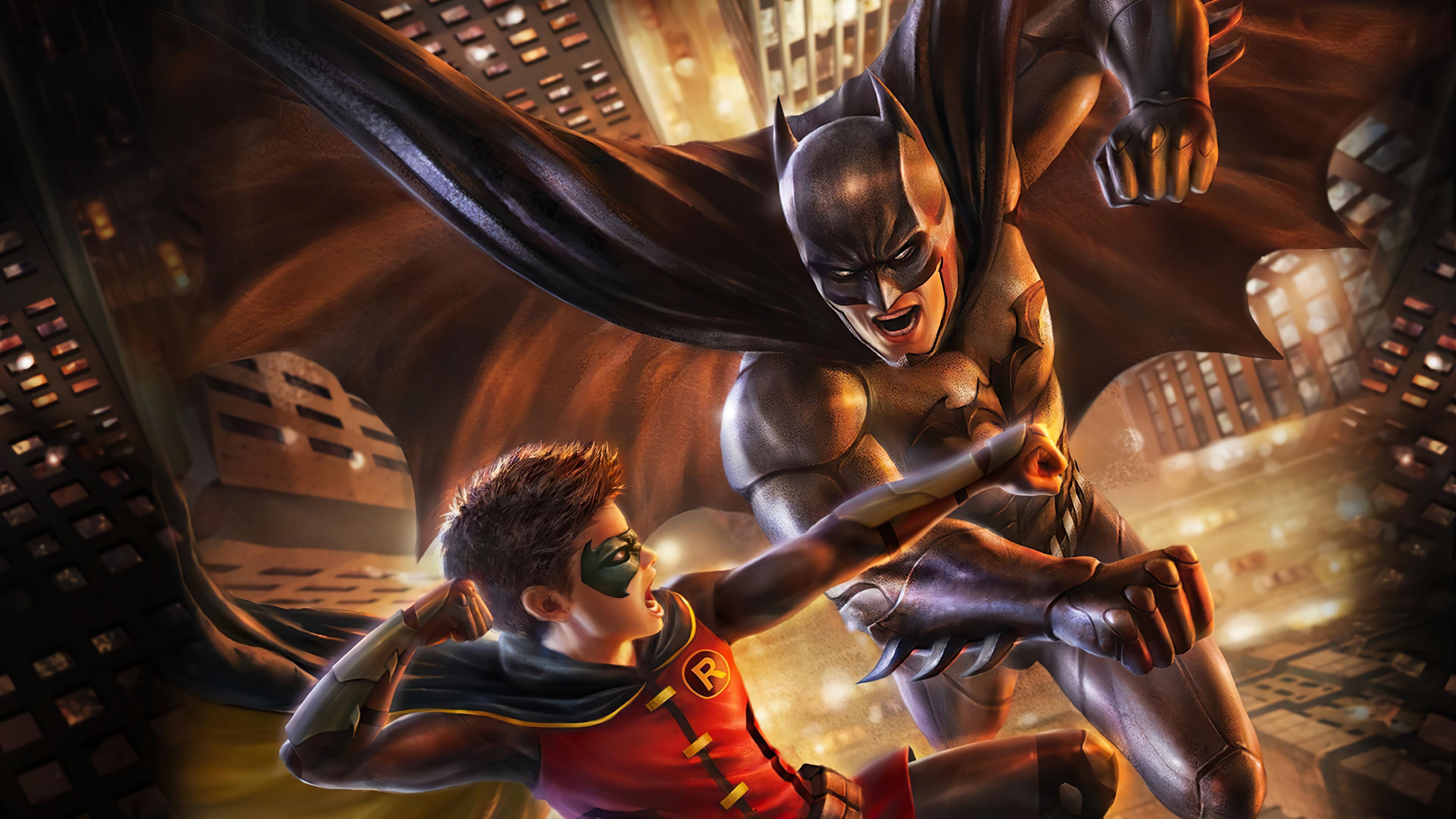 Batman Robin Dc Comics Damian Wayne 3840x2160