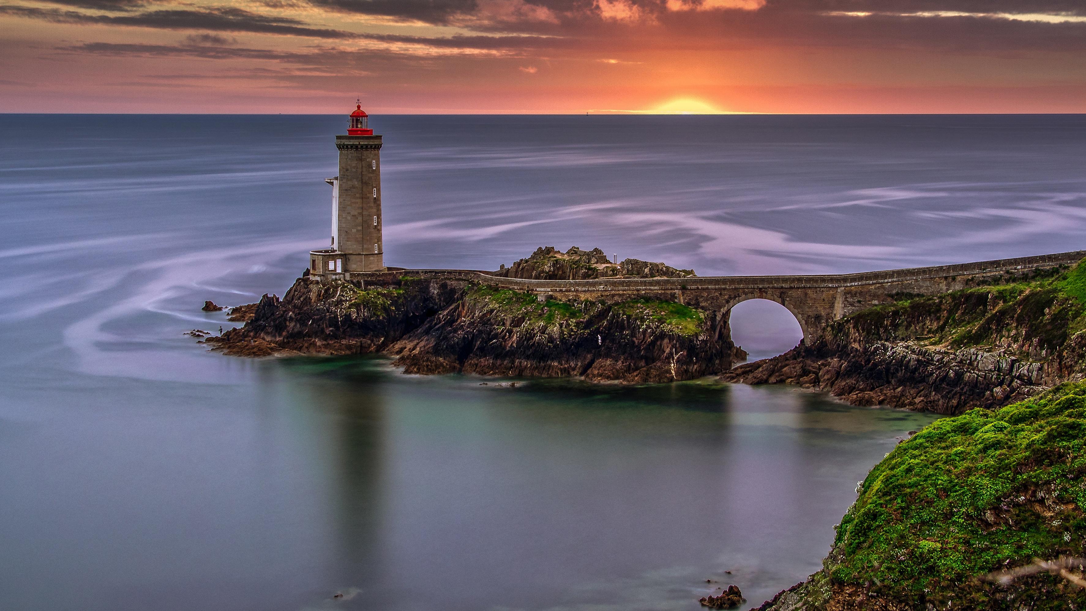 Sea Sunset France 3548x1996
