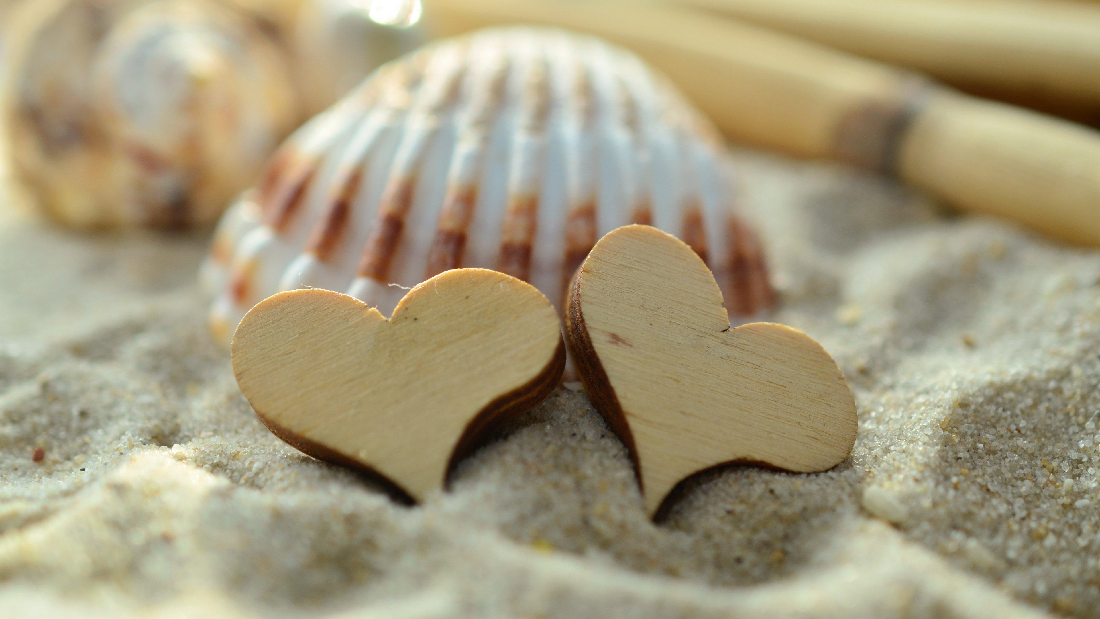 Love Sand 3840x2160