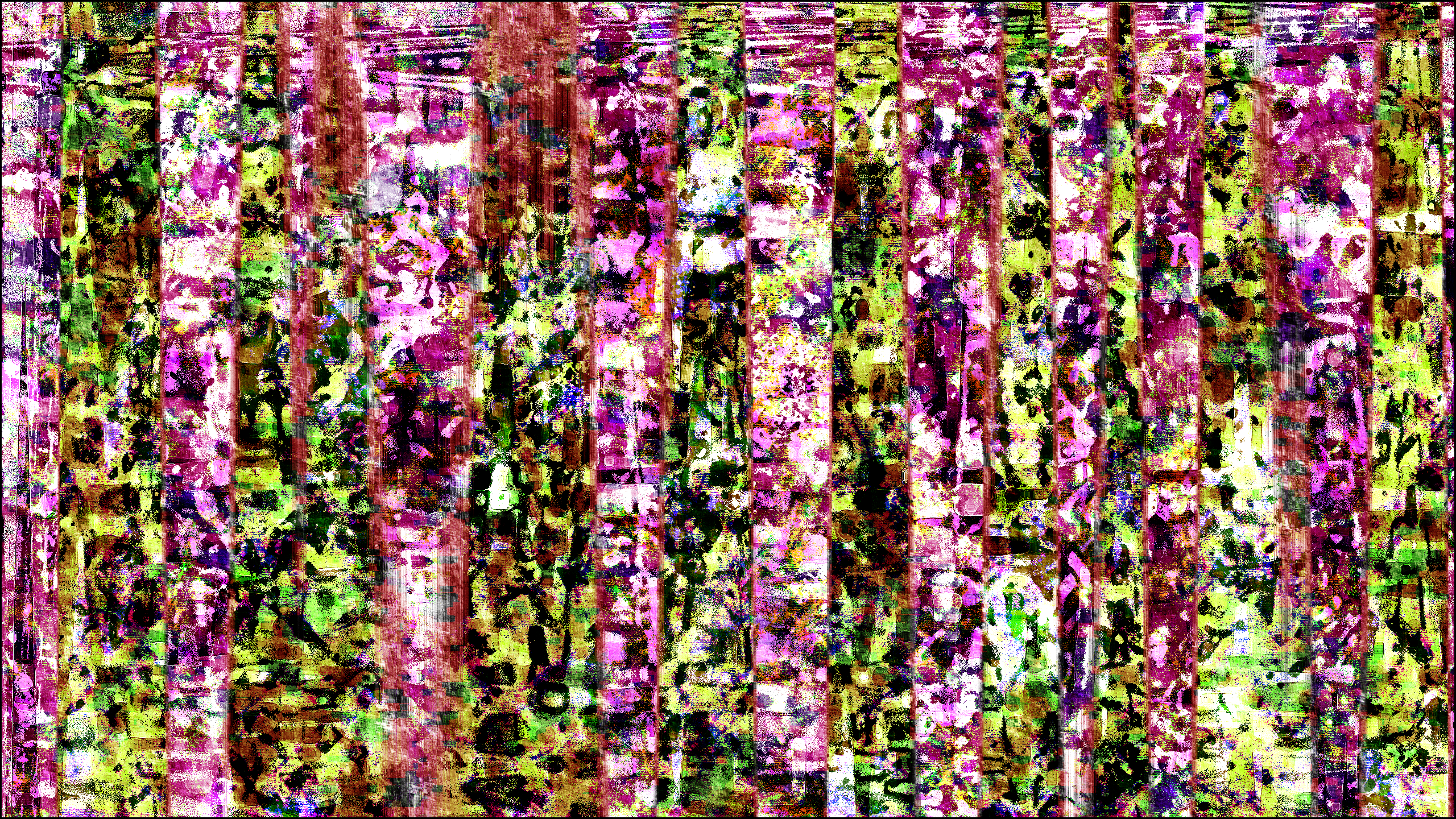 Abstract Digital Art Trippy Psychedelic Brightness 2560x1440