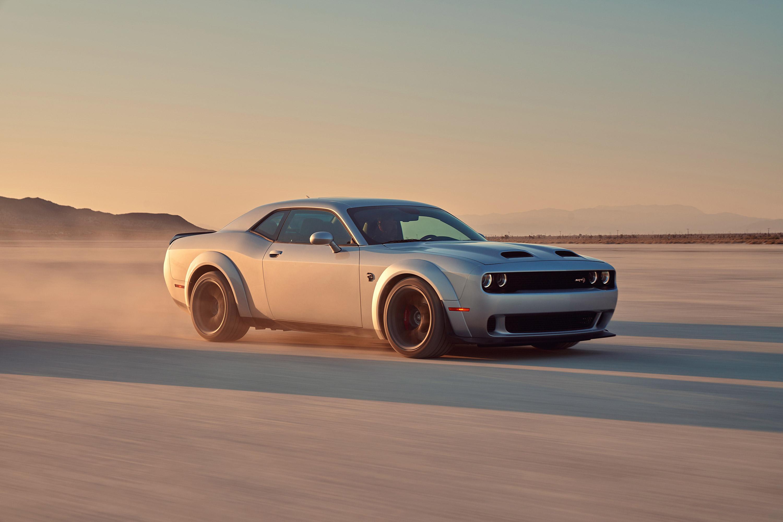 Car Coupe Dodge Dodge Challenger Dodge Challenger Srt Dodge Challenger Srt Hellcat Muscle Car Silver 3000x2000