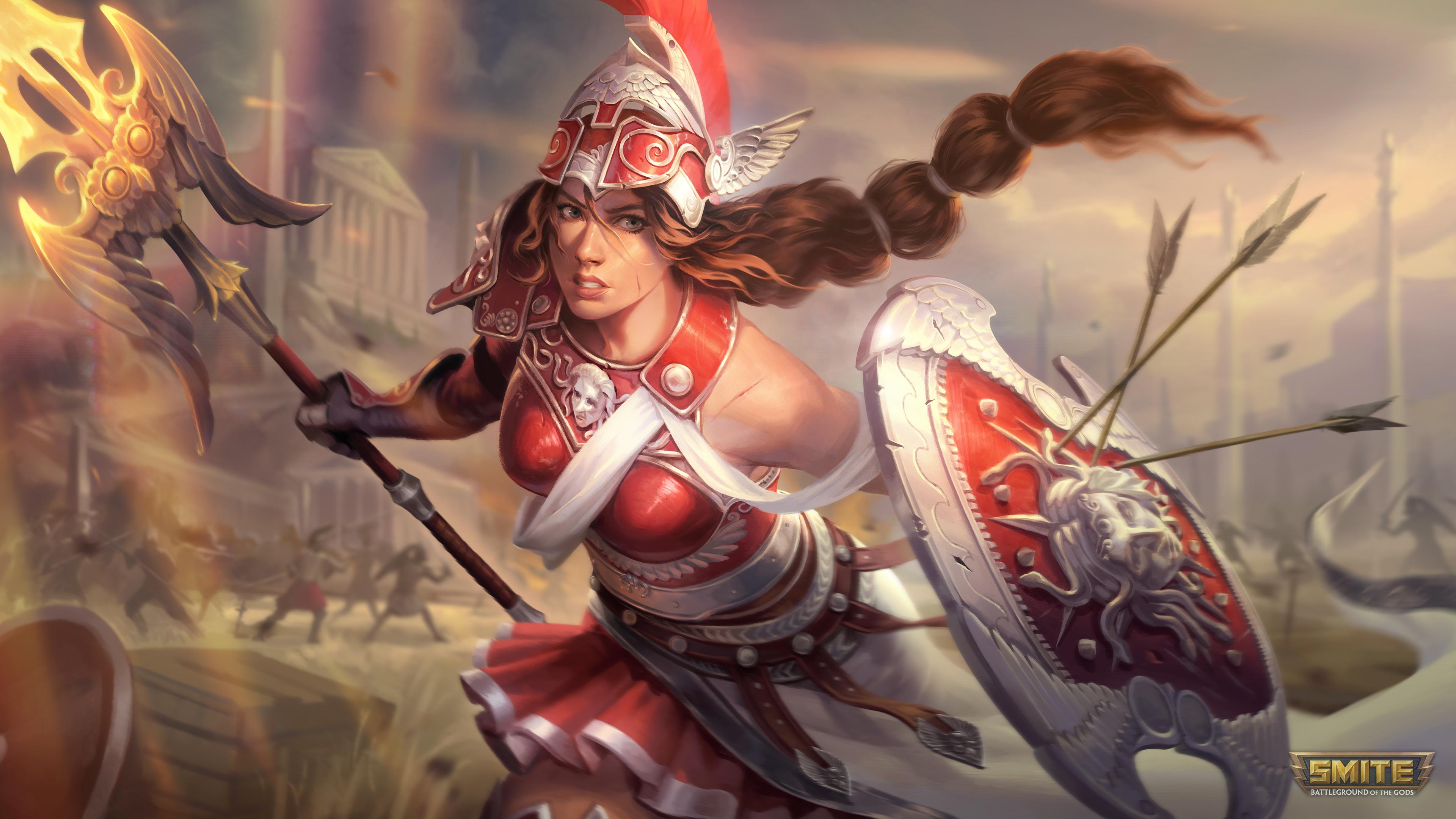 Smite Athena Smite 3840x2160