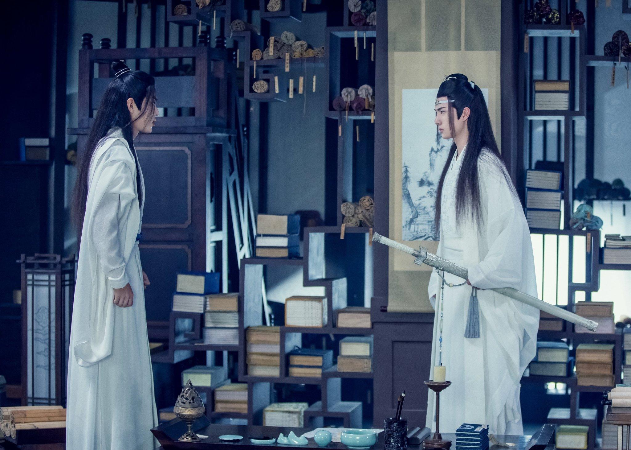 Wei Ying Wei Wuxian Lan Wangji Lan Zhan Xiao Zhan Wang Yibo 2048x1459