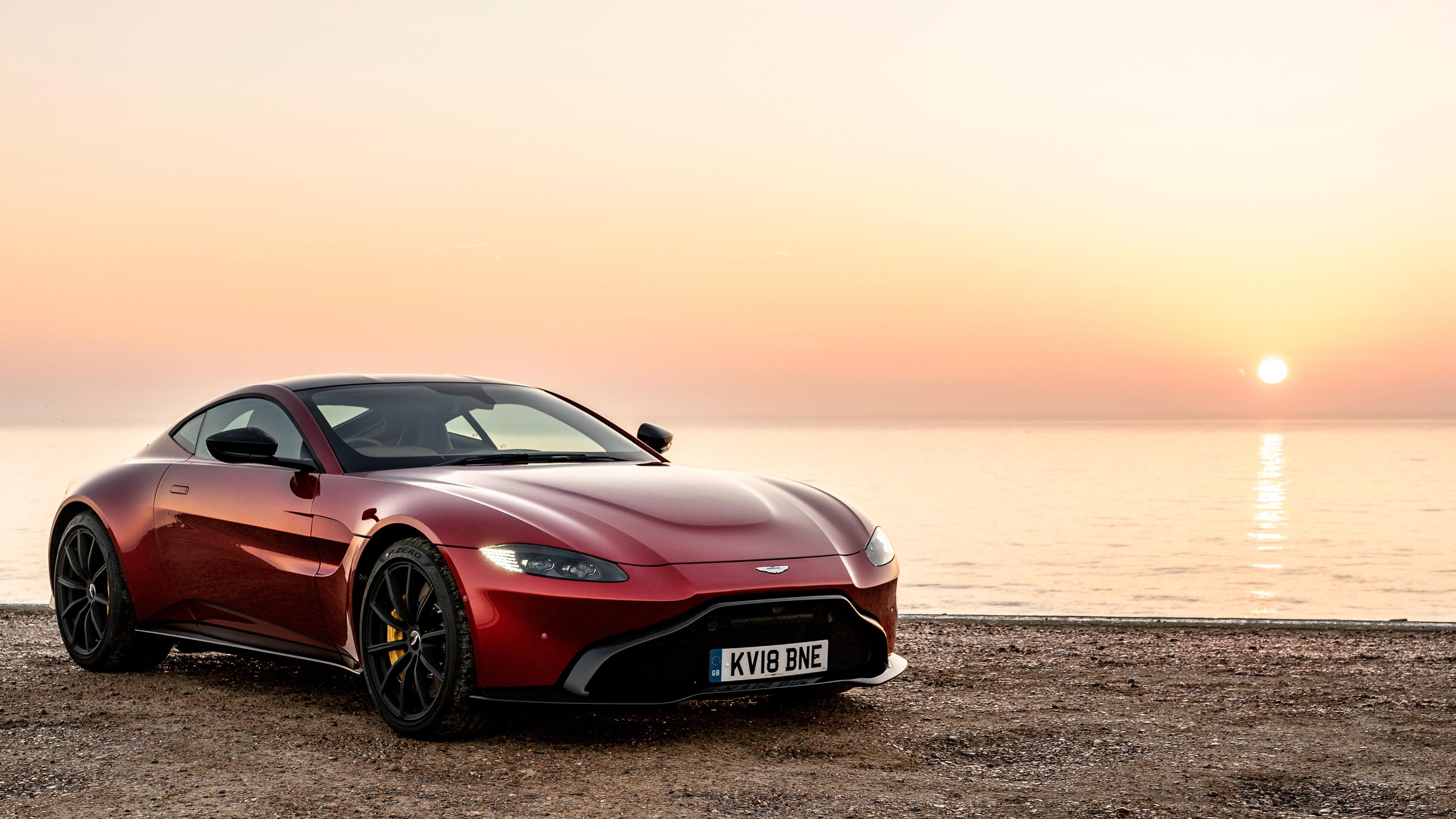 Aston Martin Car Red Car Sport Car Supercar 4096x2304
