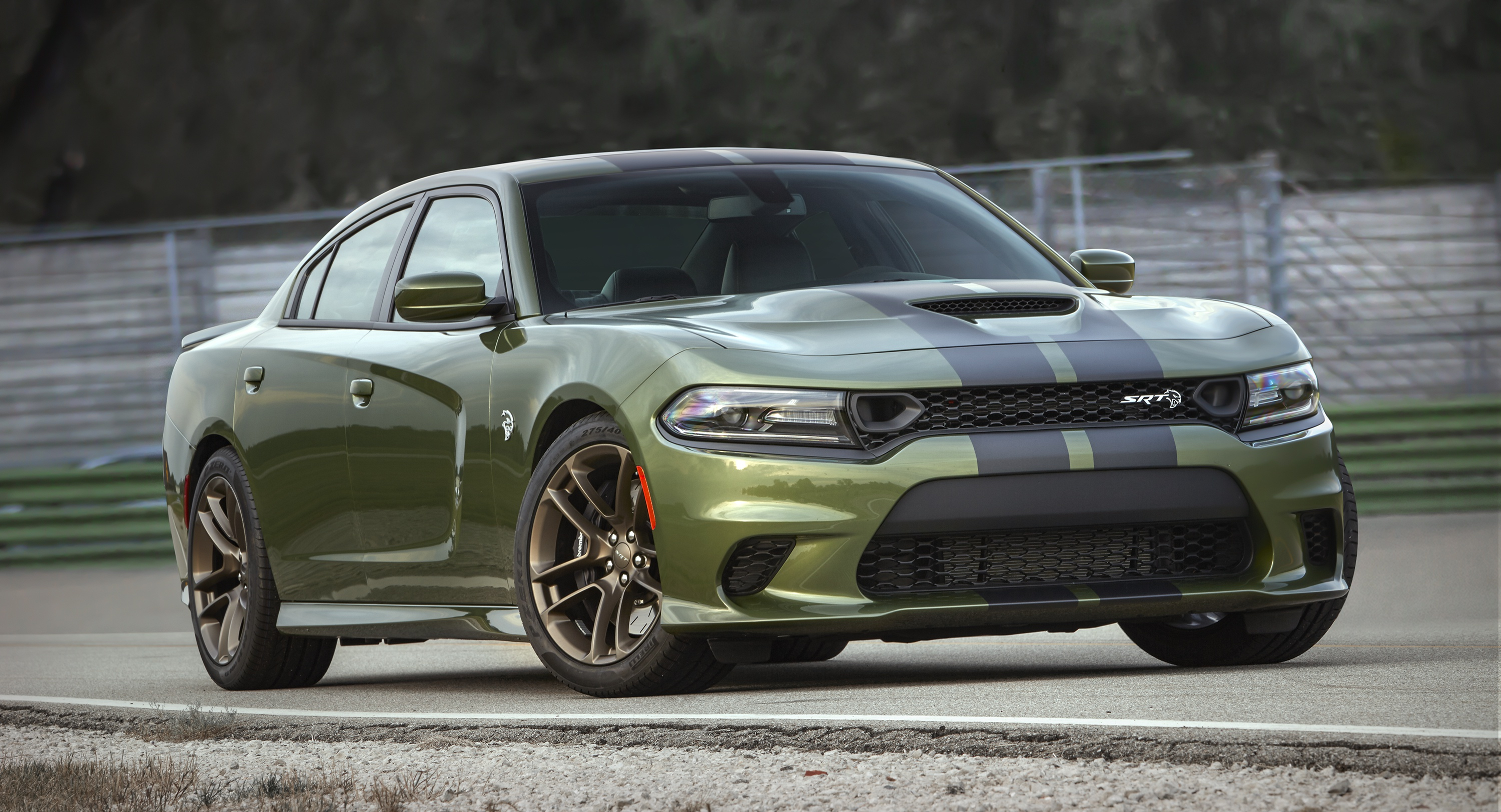Dodge Dodge Charger Muscle Car Green Car 3000x1624
