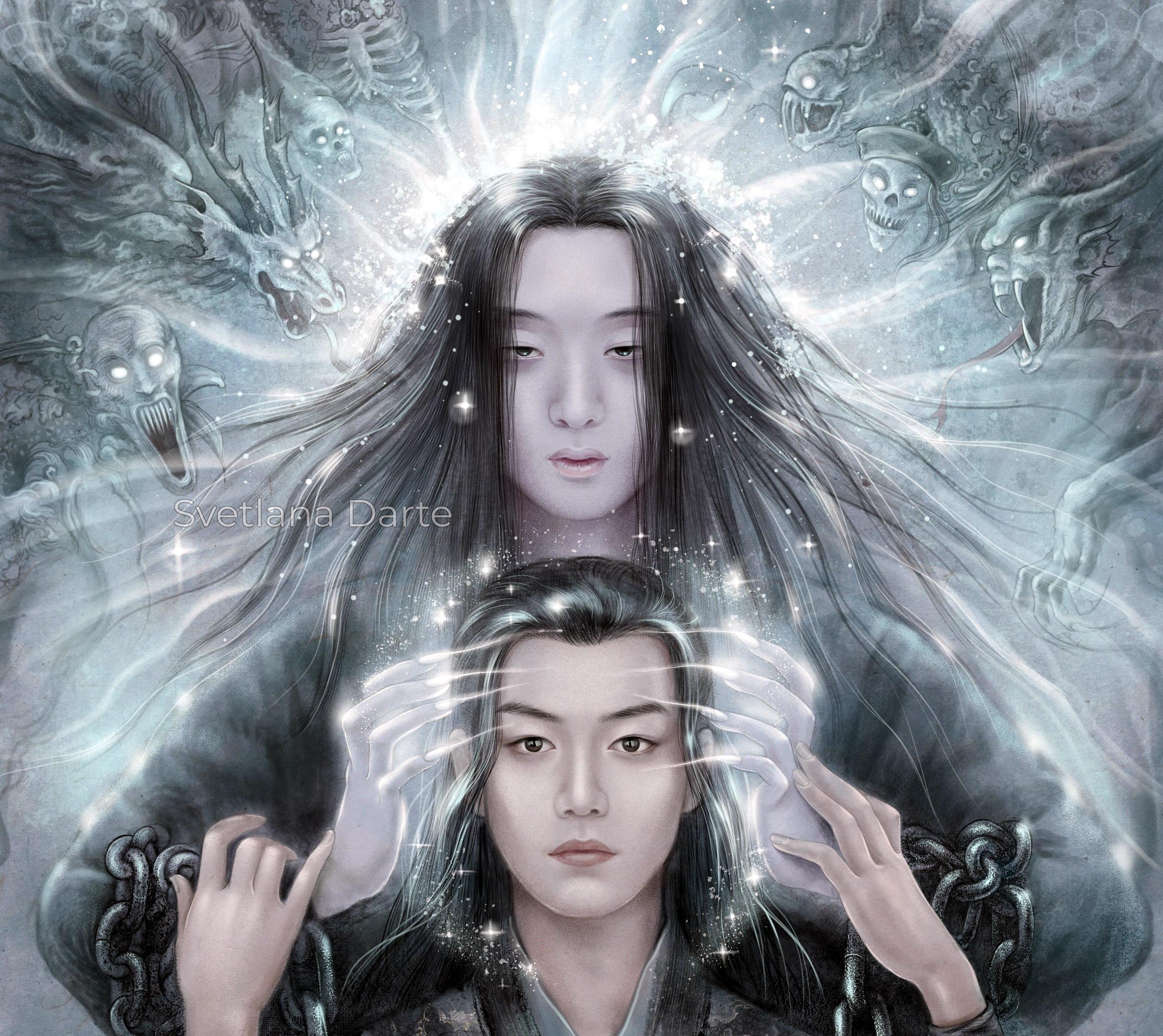 Wei Wuxian Wei Ying Wen Ning Paul Yu Xiao Zhan 2425x2160