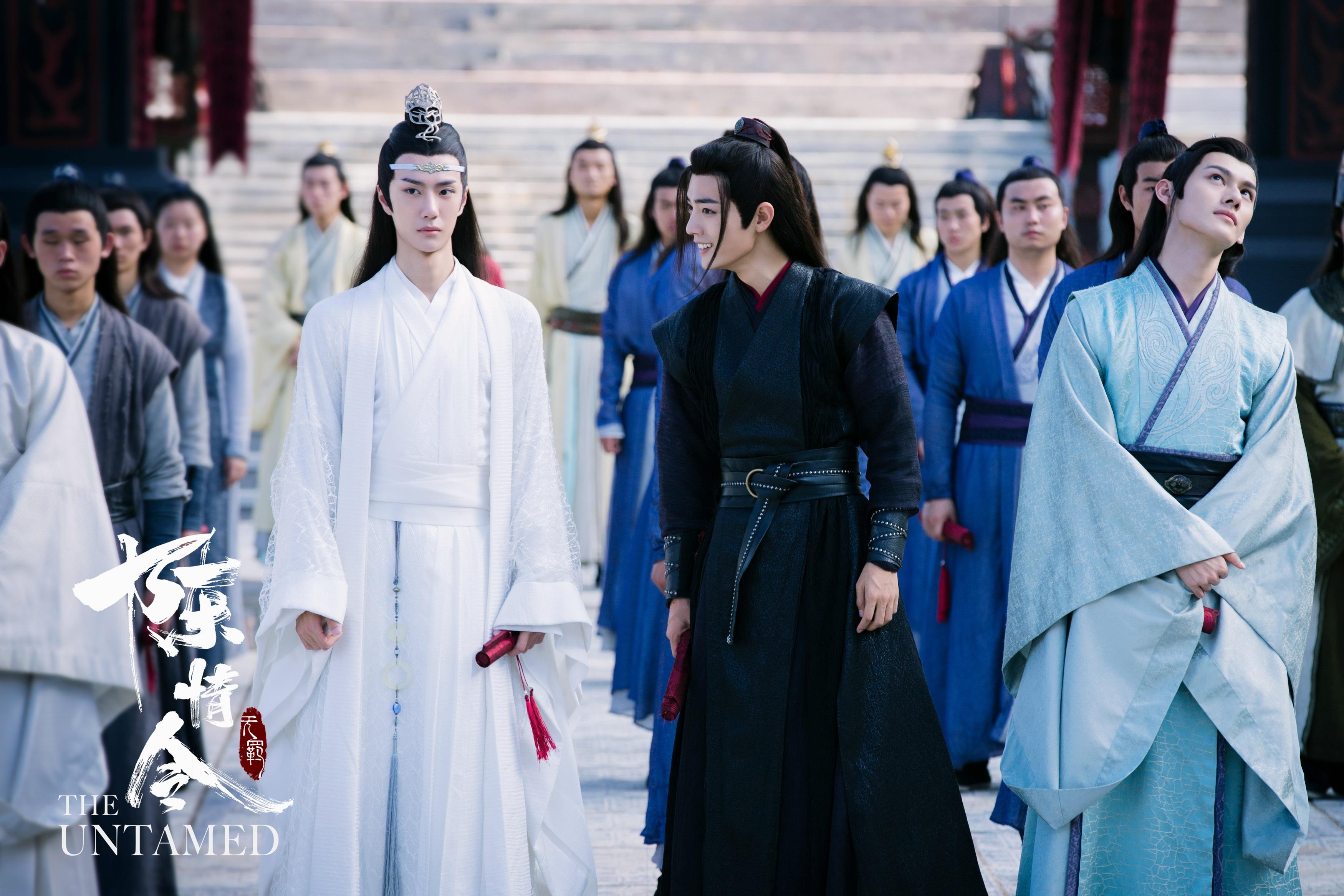 Lan Zhan Lan Wangji Wang Yibo Wei Ying Wei Wuxian Xiao Zhan Jiang Wanyin Jiang Cheng Wang Zhuocheng 3500x2334
