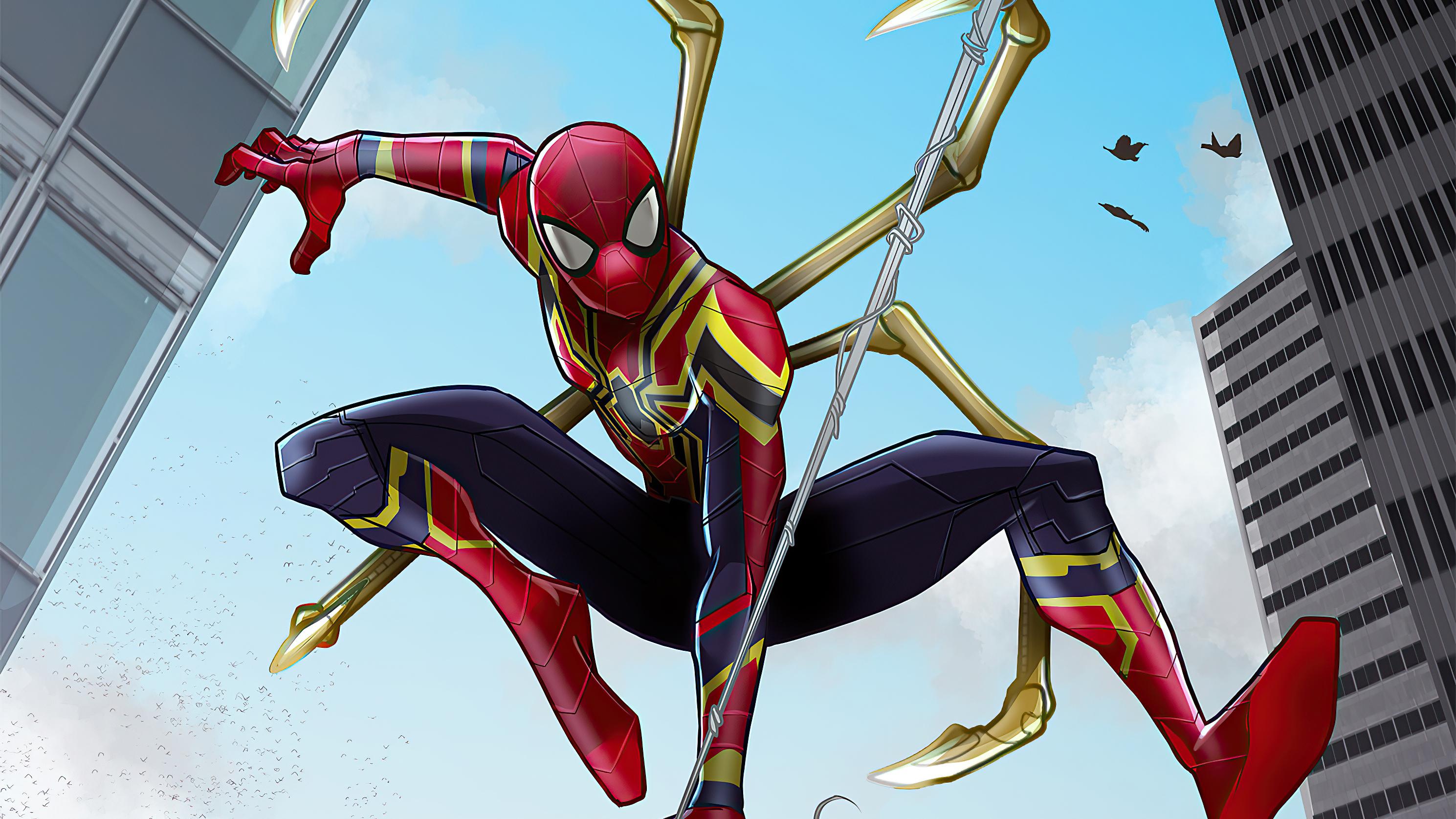 Marvel Comics Iron Spider 2978x1675