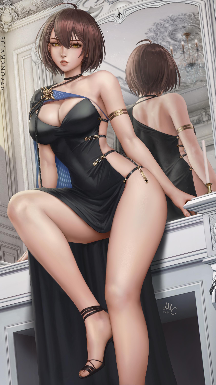 Illustration Artwork Digital Art Fan Art Drawing Fantasy Art Fantasy Girl Women Anime Anime Girls Az 1687x3000