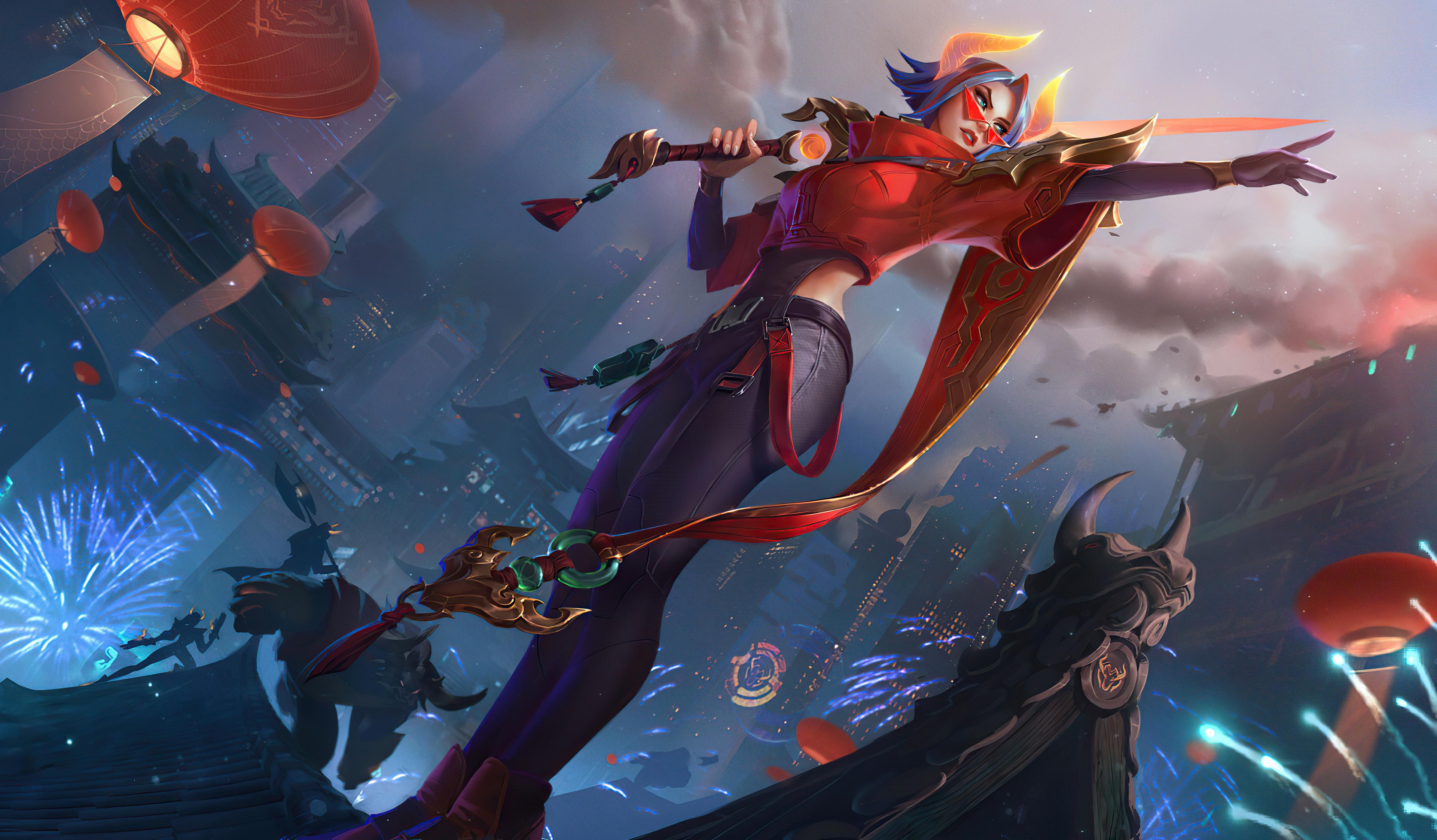 Fiora League Of Legends 3840x2244