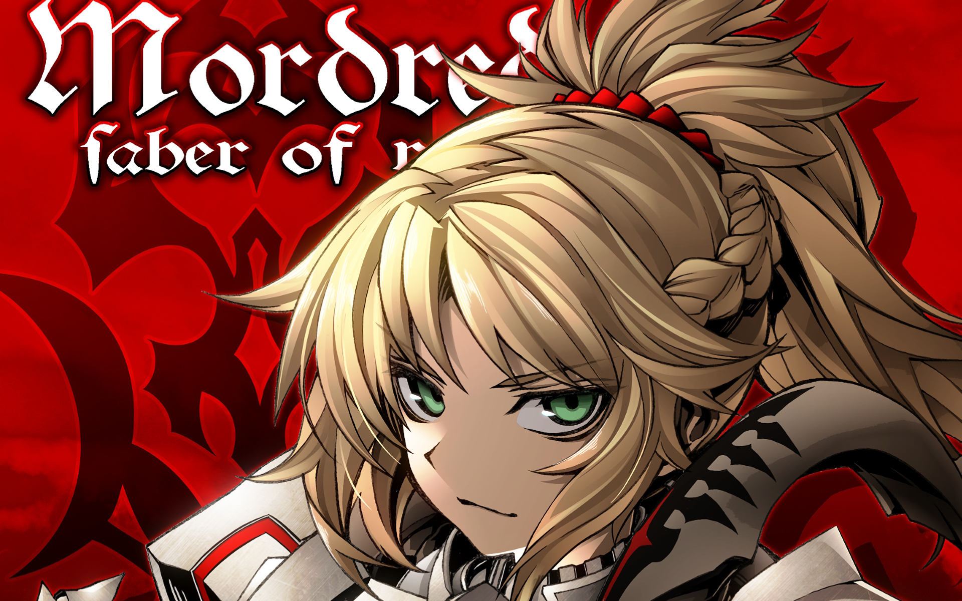 Saber Of Red Fate Apocrypha Mordred Fate Apocrypha 1920x1200