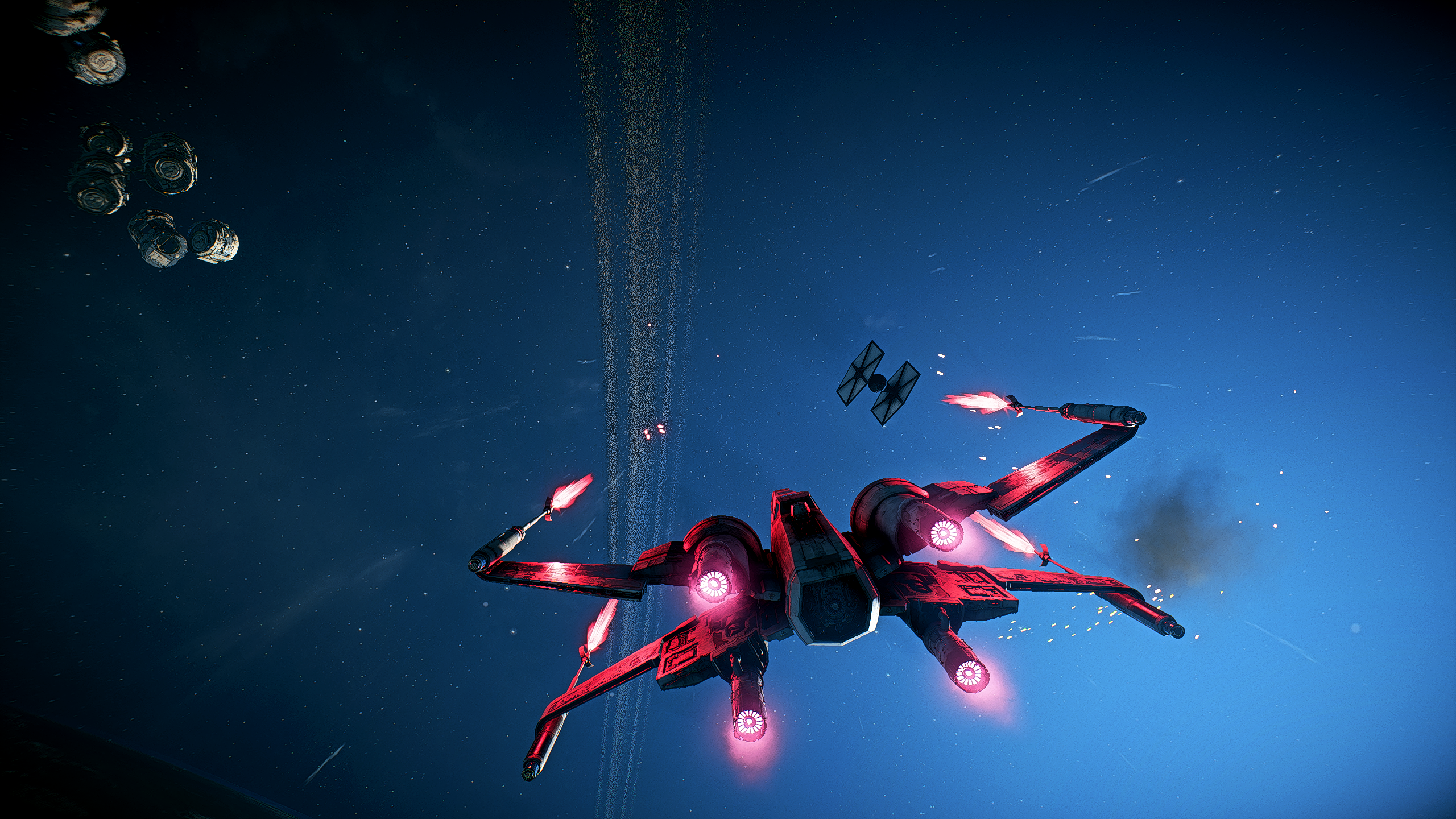 Star Wars Space X Wing 2560x1440