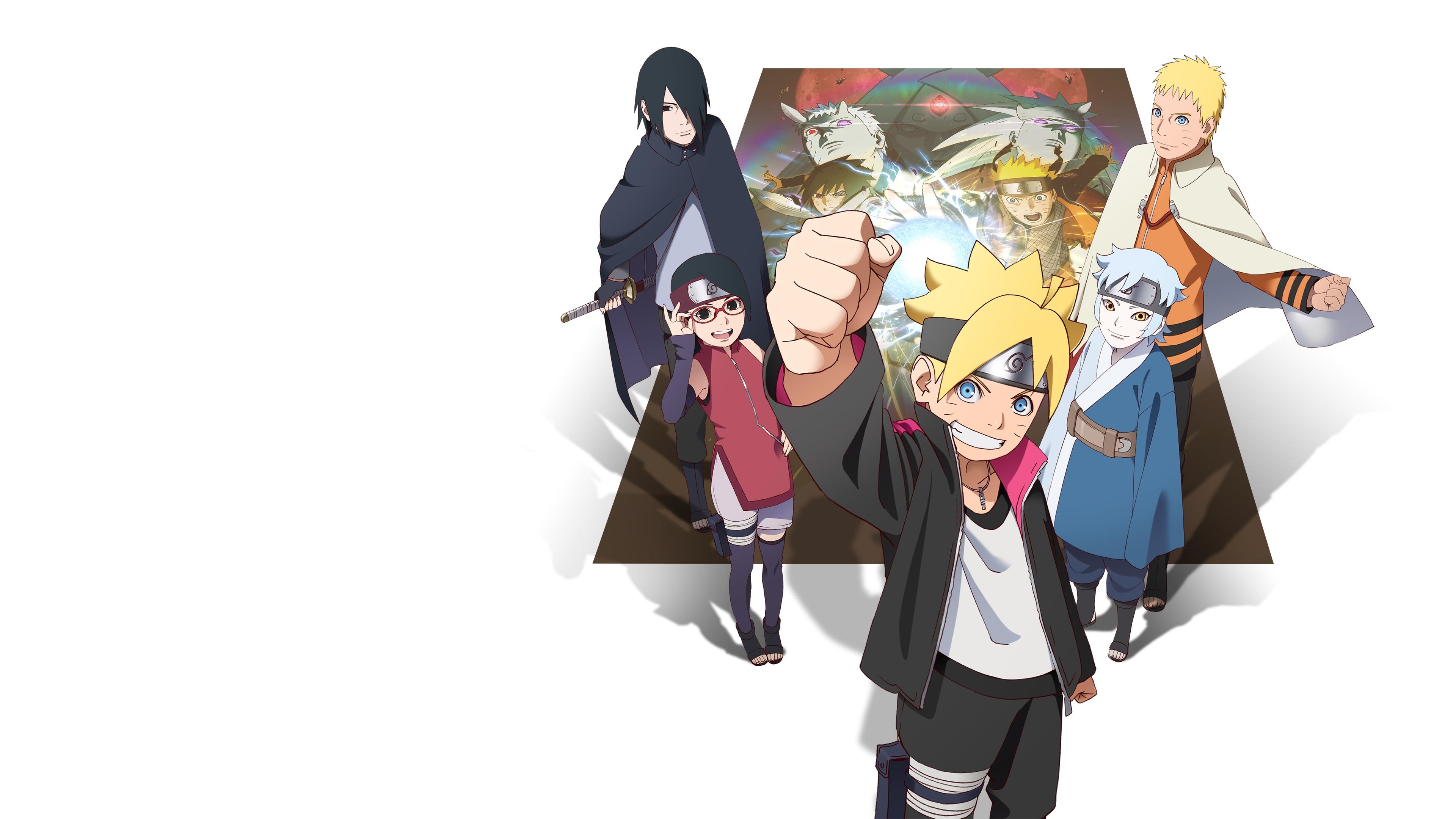 Video Game Naruto Shippuden Ultimate Ninja Storm 4 3840x2160