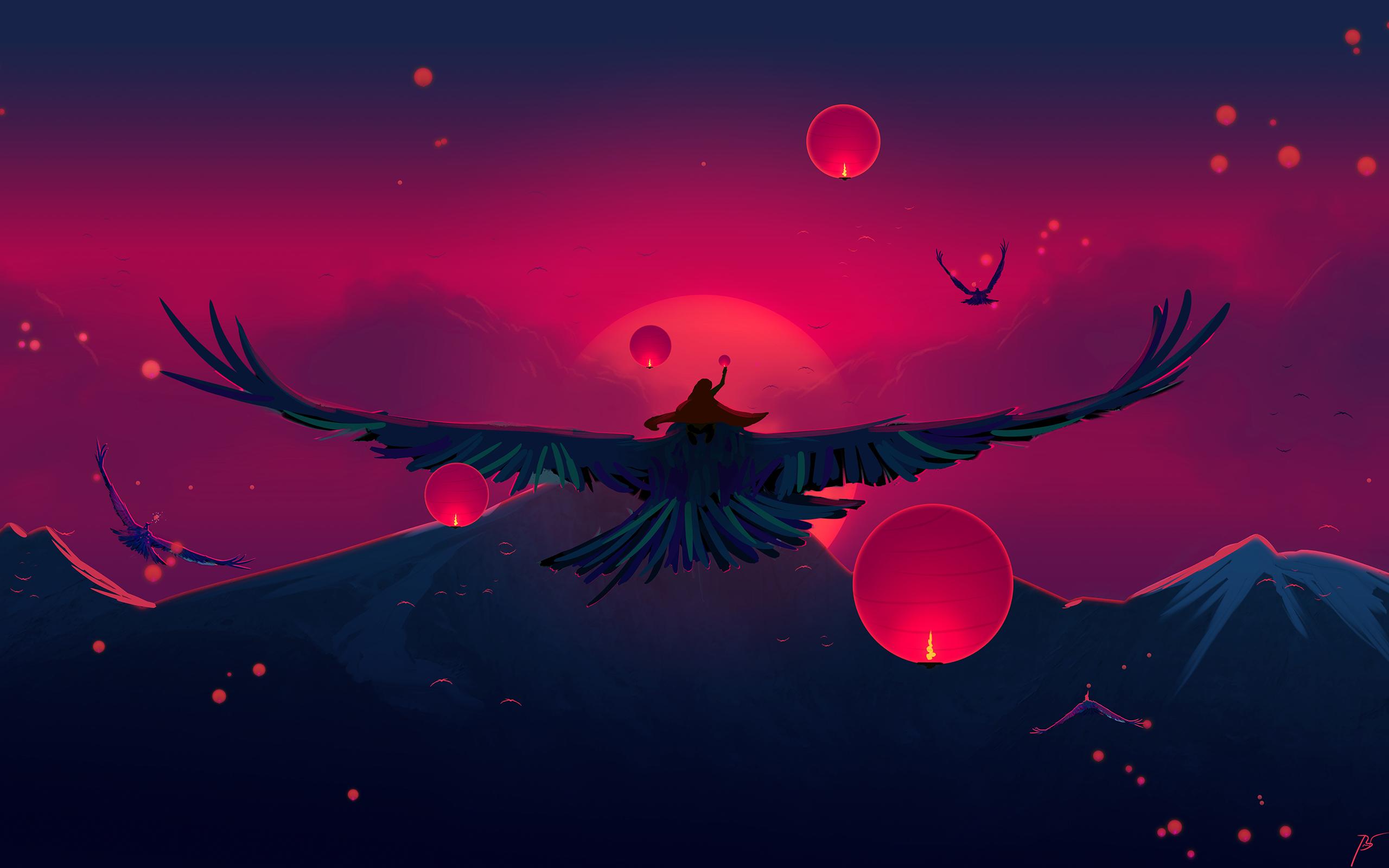 Fantasy Bird 2560x1600