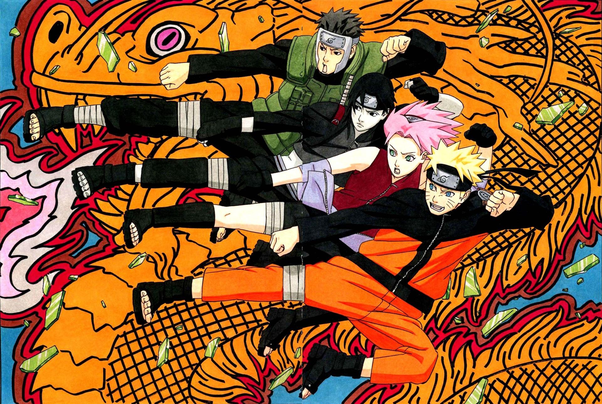 Naruto Uzumaki Sai Naruto Sakura Haruno Yamato Naruto 1920x1288