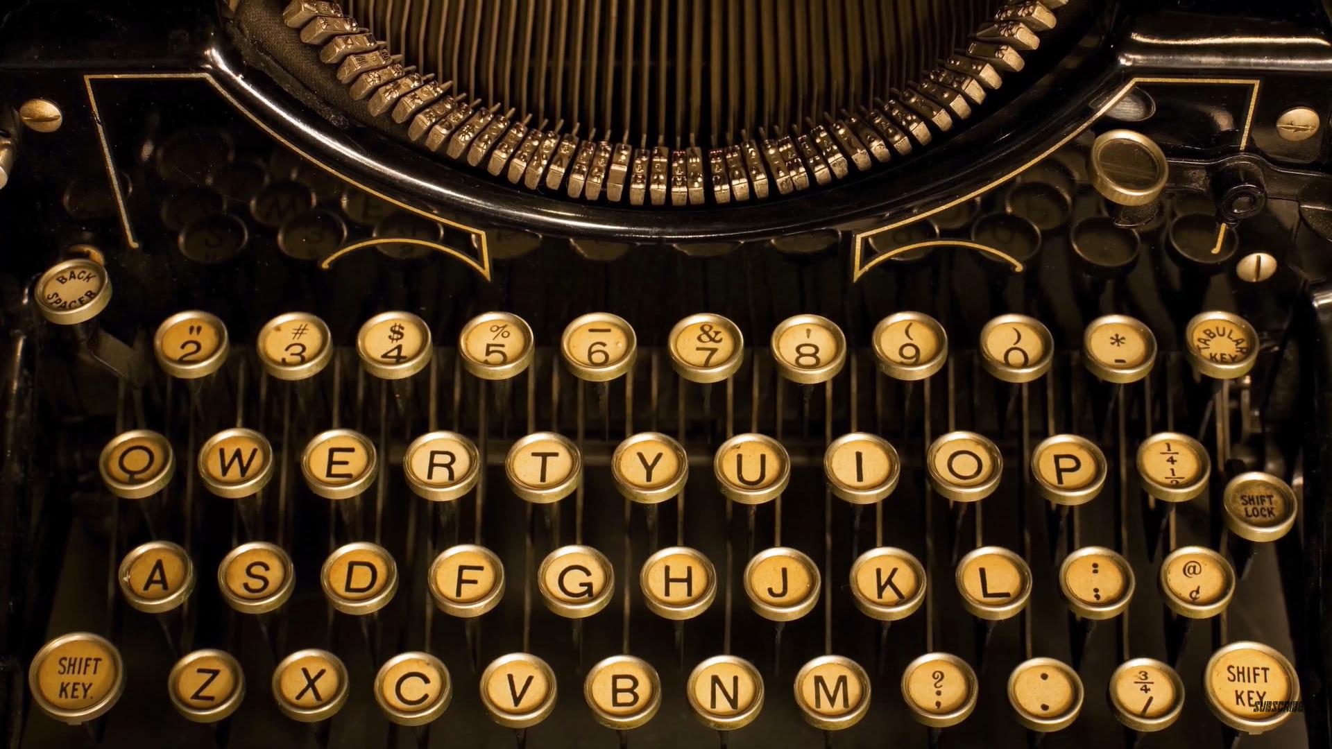 Typewriter Vintage 1920x1080