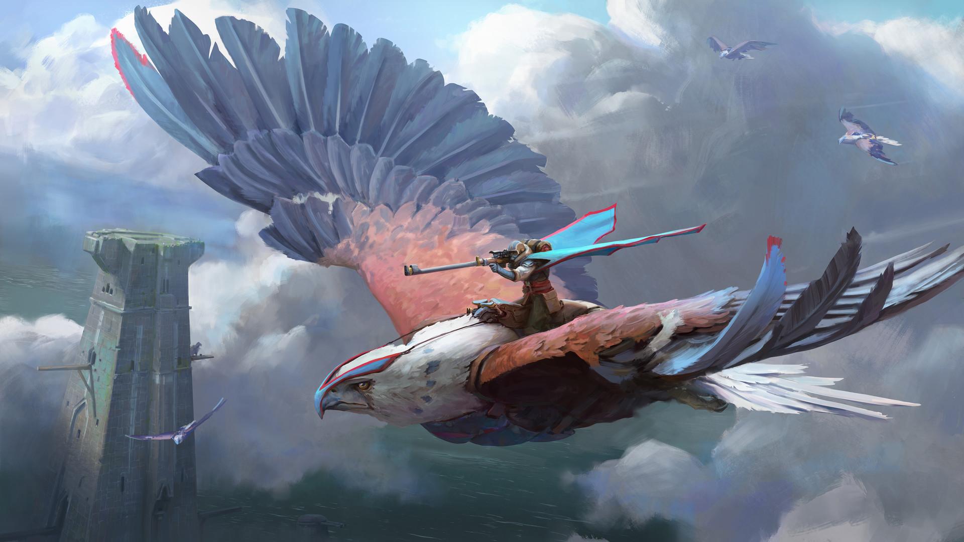 Fantasy Bird 1920x1080