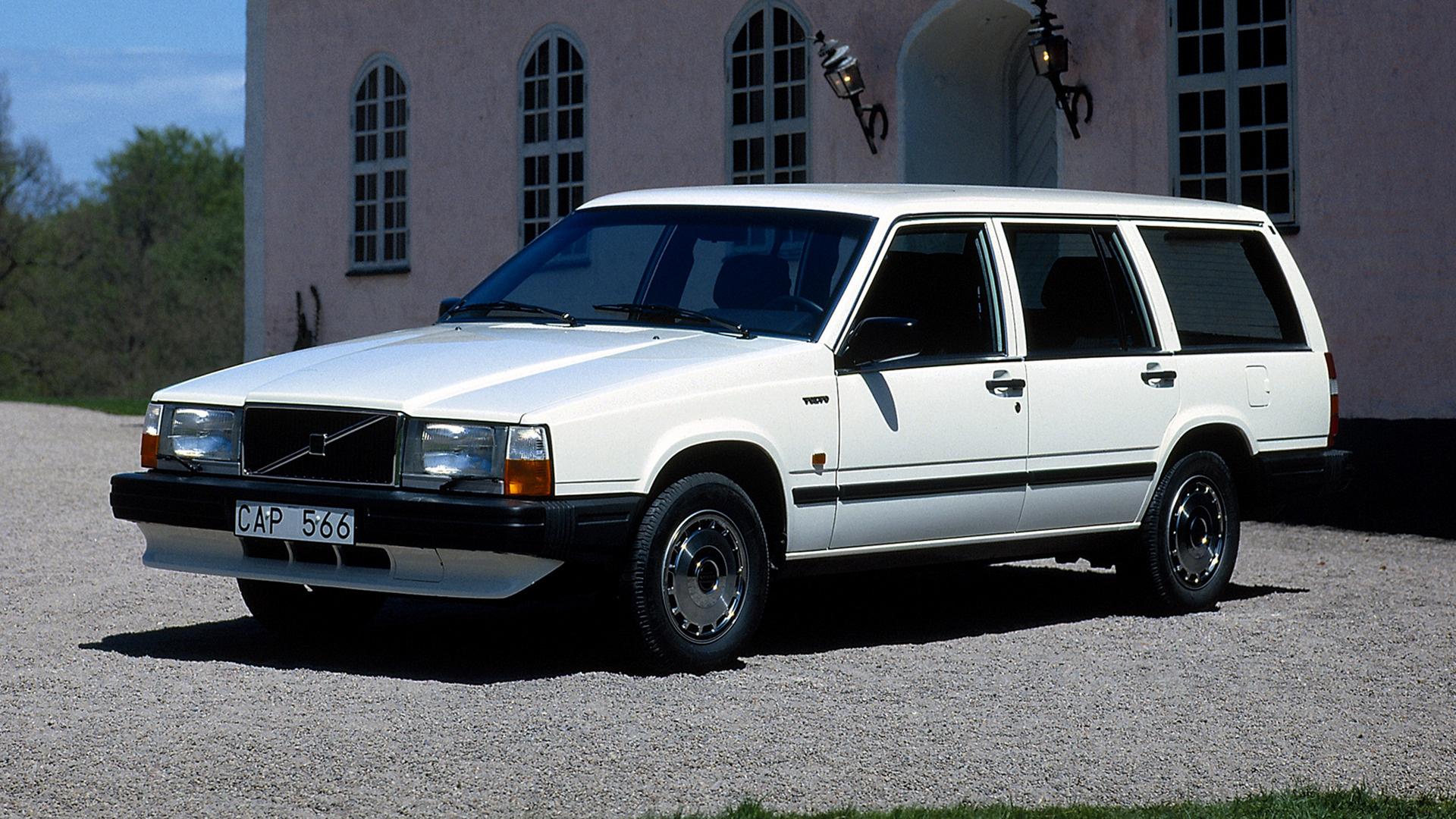 Kombi White Car 1920x1080