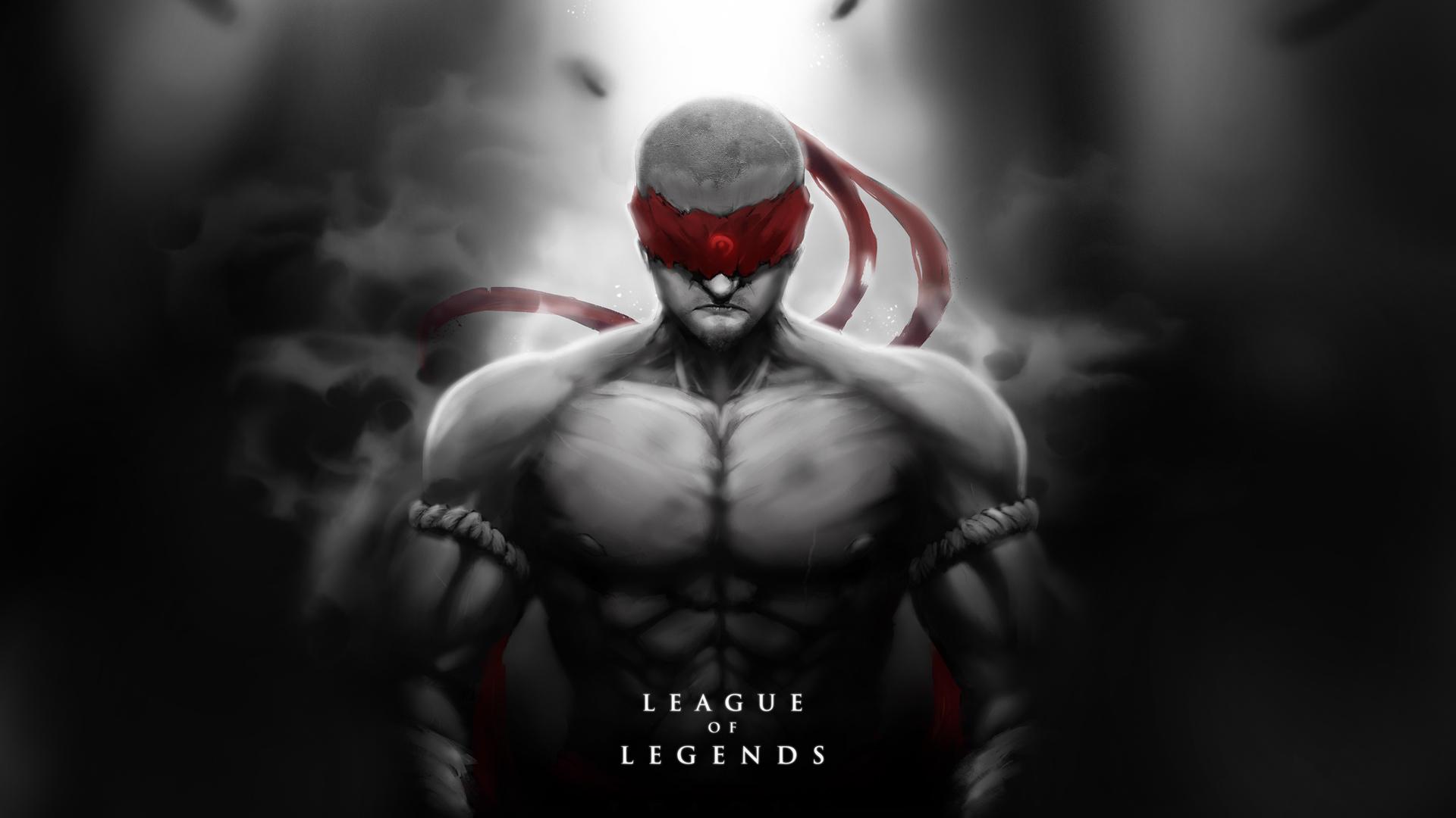 Lee Sin League Of Legends 1920x1080