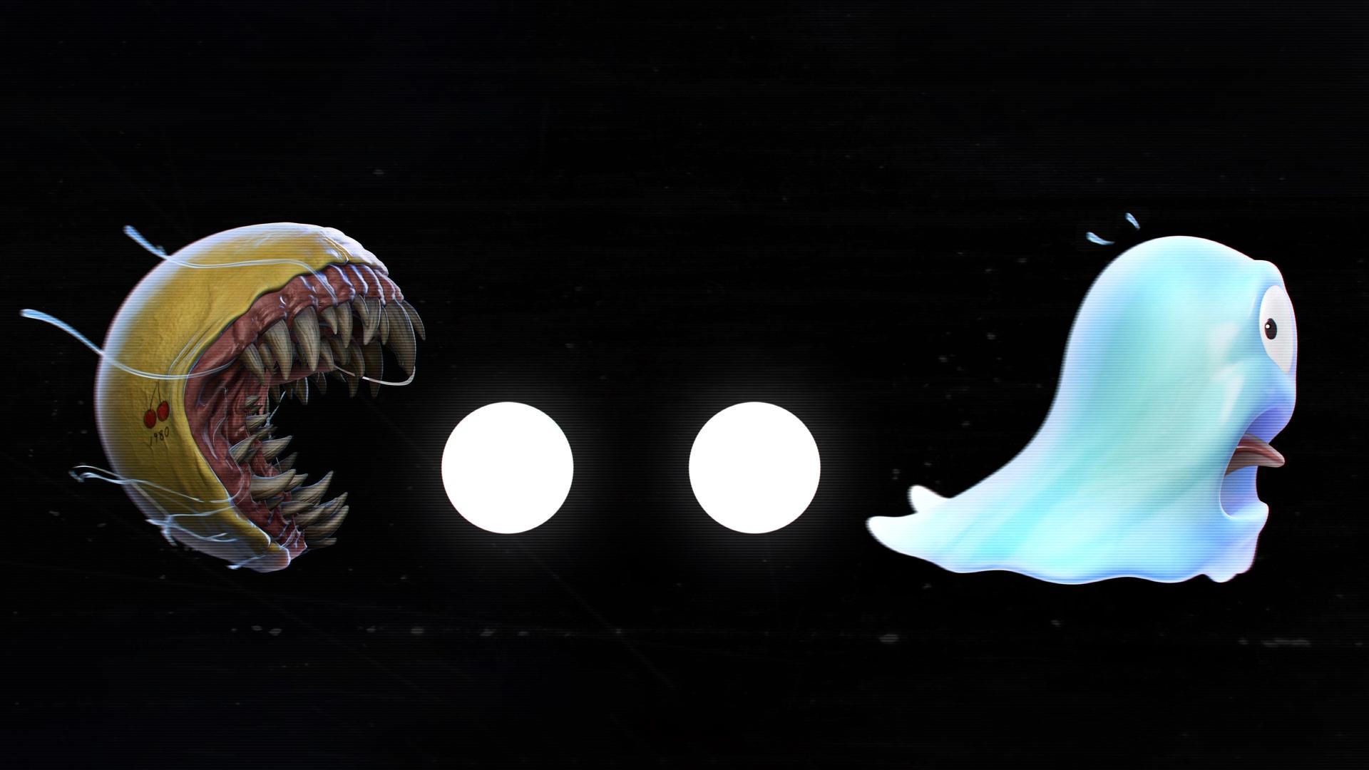 Ghost Pac Man Venom 1920x1080