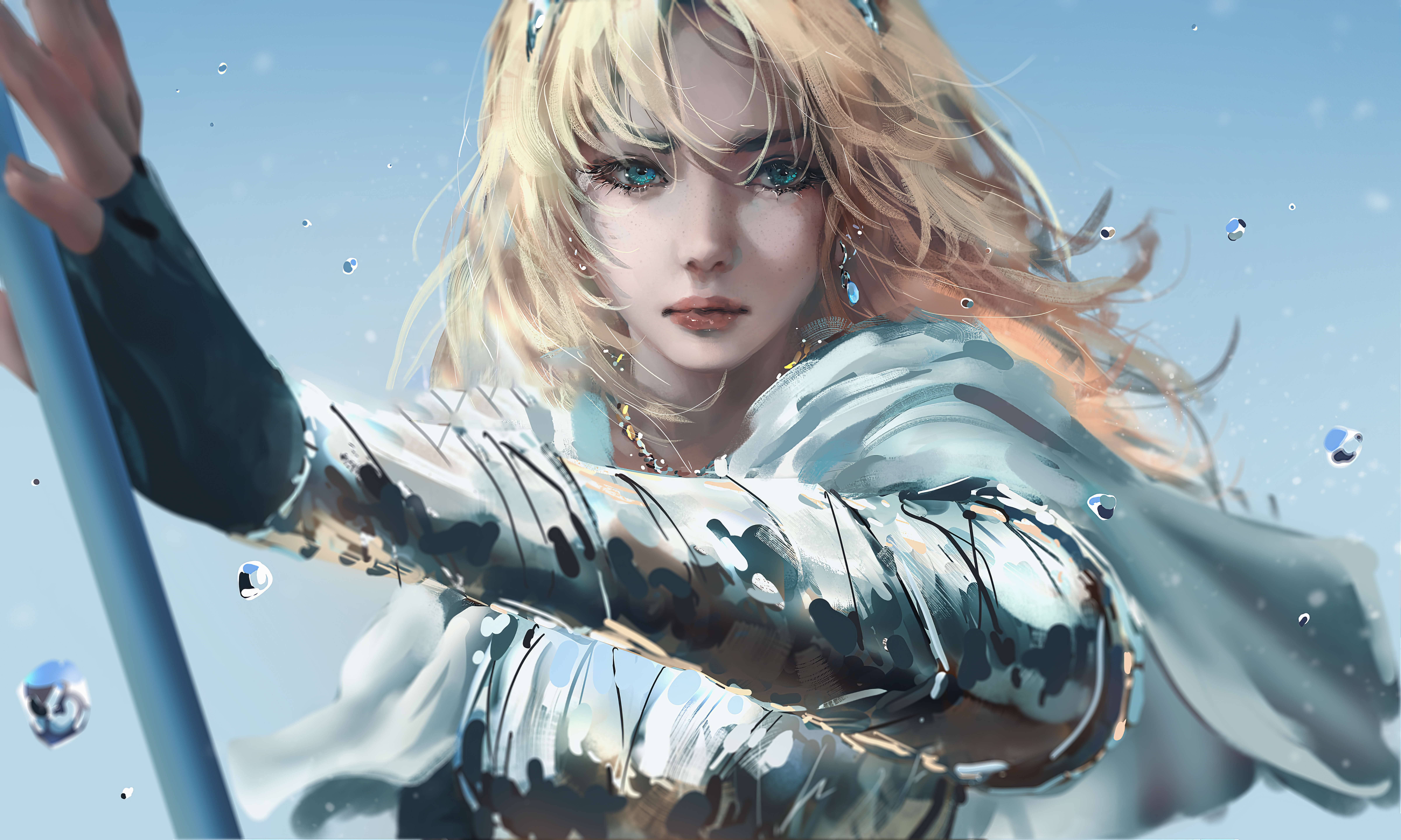 Girl Blonde Lux League Of Legends 9600x5760