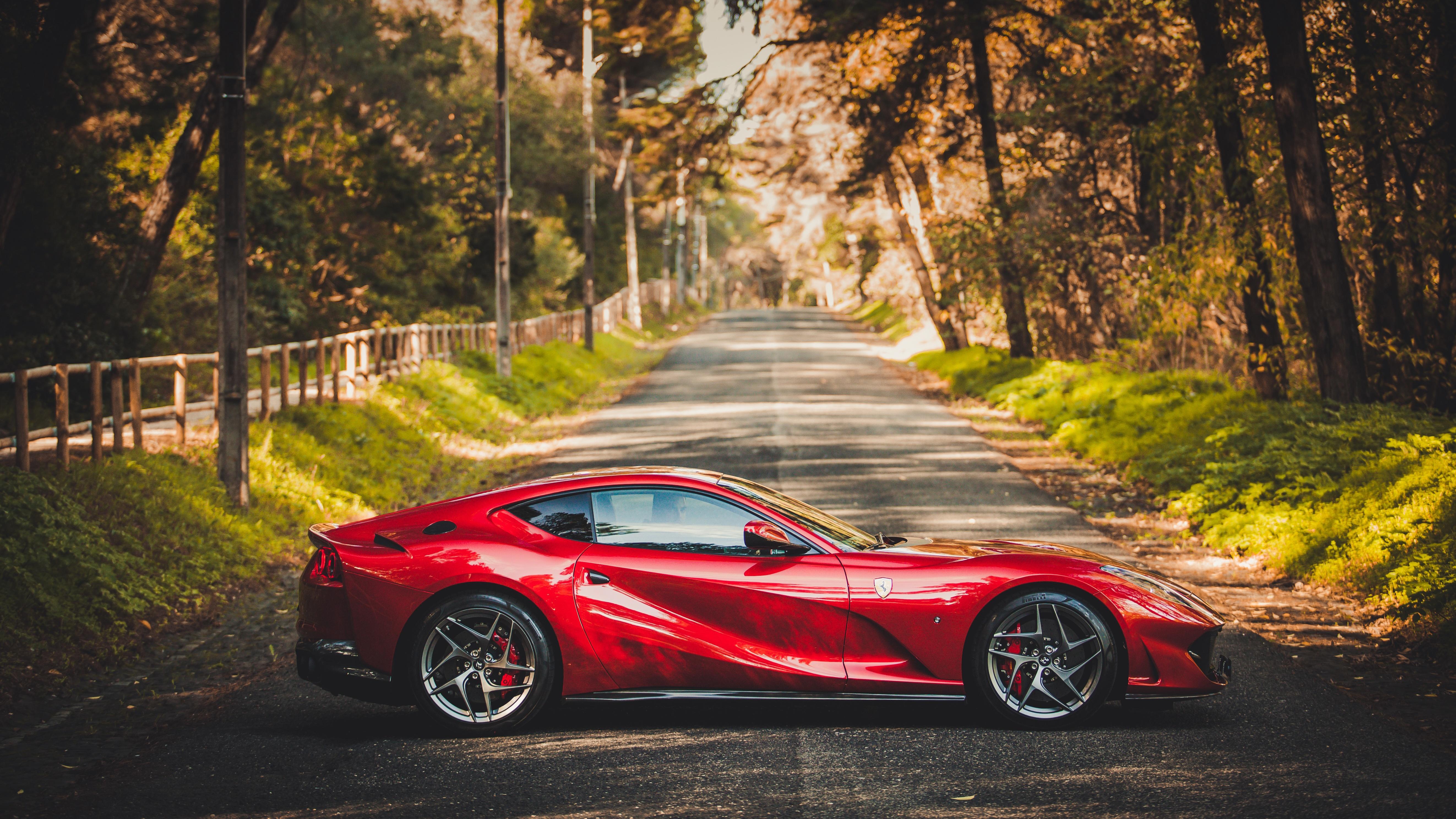 Ferrari Car Red Car Sport Car Supercar 5289x2975