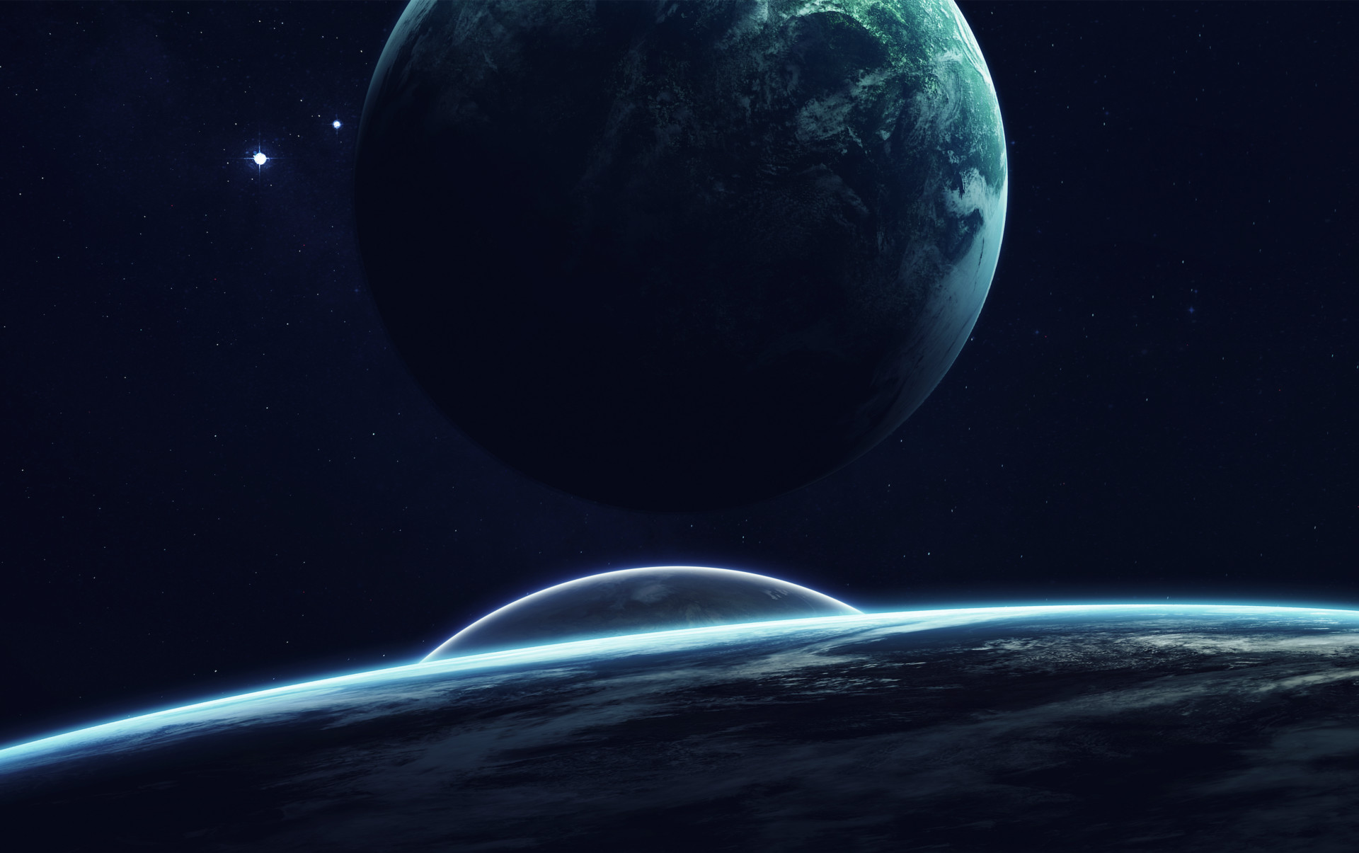 Sci Fi Planets 1920x1205