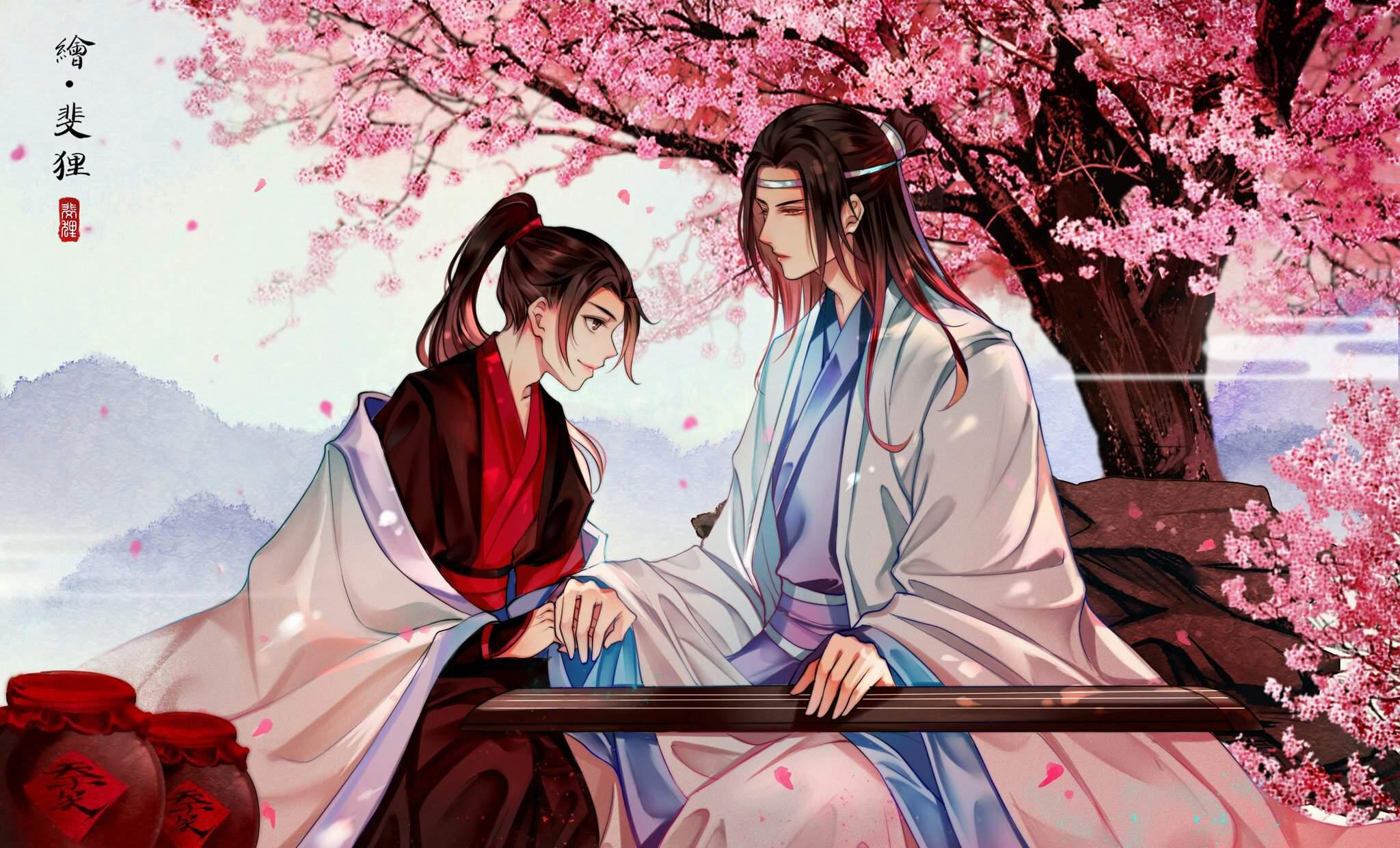 Lan Wangji Lan Zhan Wei Ying Wei Wuxian 2048x1241