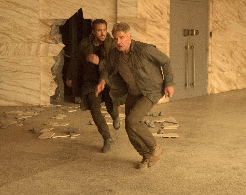 Ryan Gosling Harrison Ford Officer K Blade Runner 2049 Rick Deckard 3000x2386