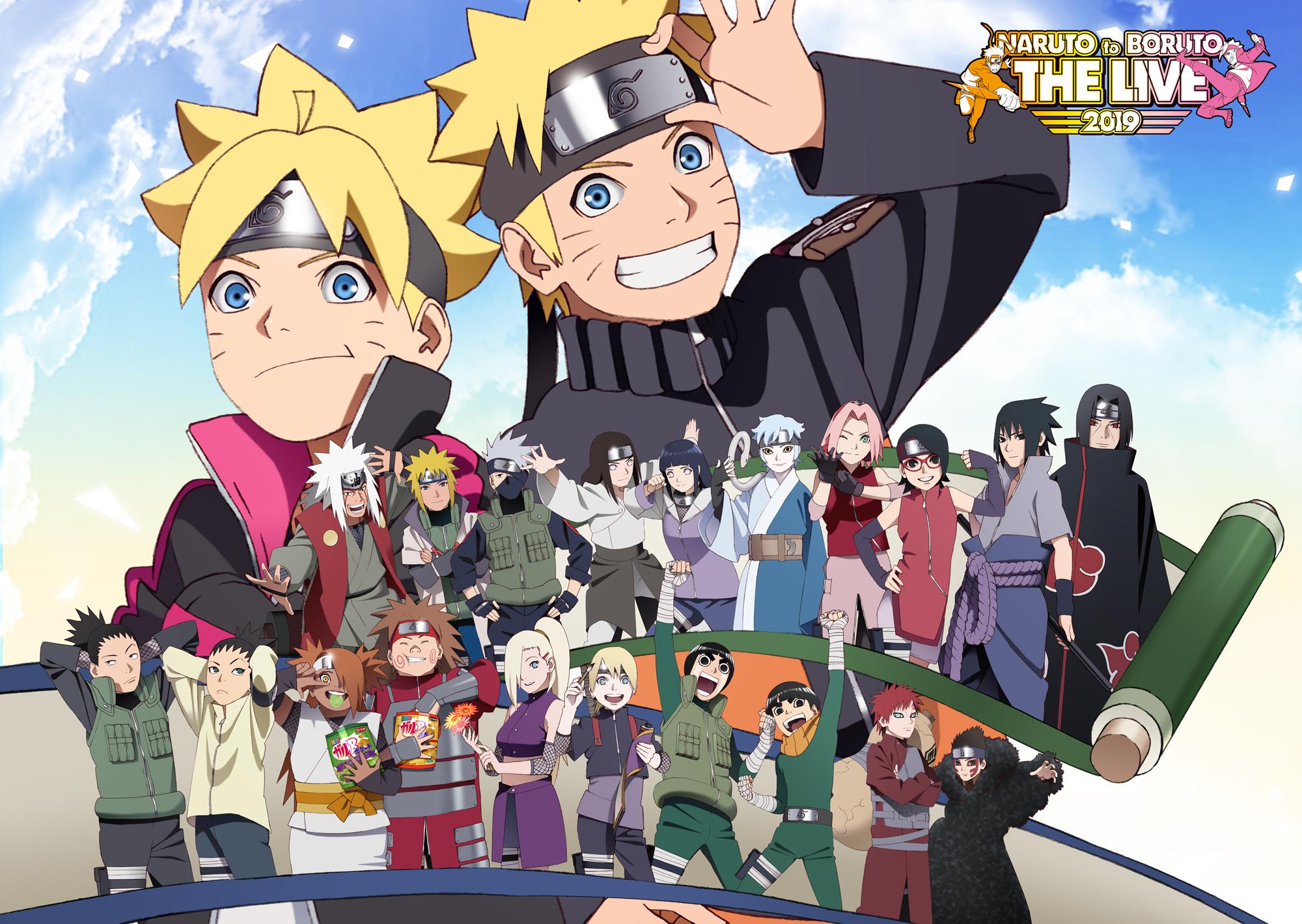 Boruto Anime Boruto Uzumaki Ch Ch Akimichi Ch Ji Akimichi Gaara Naruto Hinata Hyuga Ino Yamanaka Ino 2000x1420